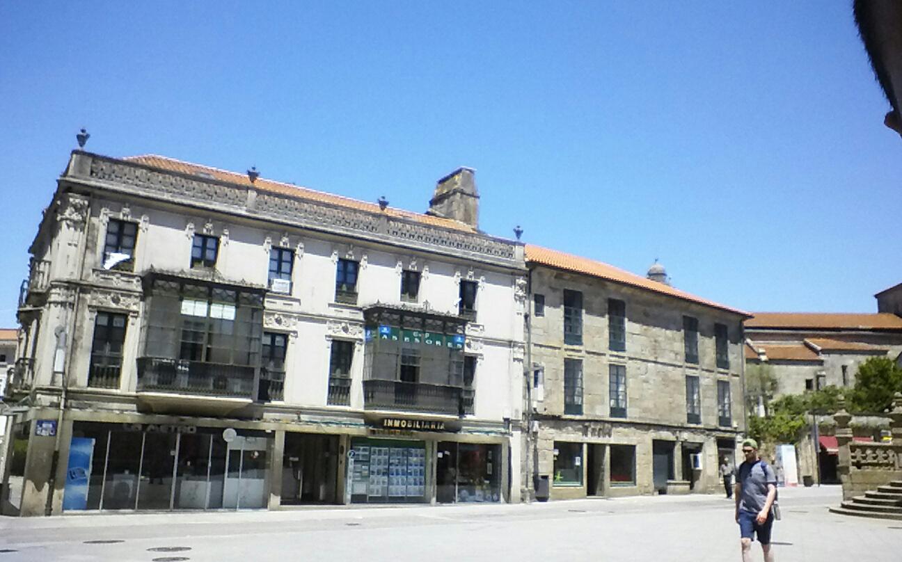 Archivo pontevedra capital casa modernista en la plaza de - Mi casa pontevedra ...