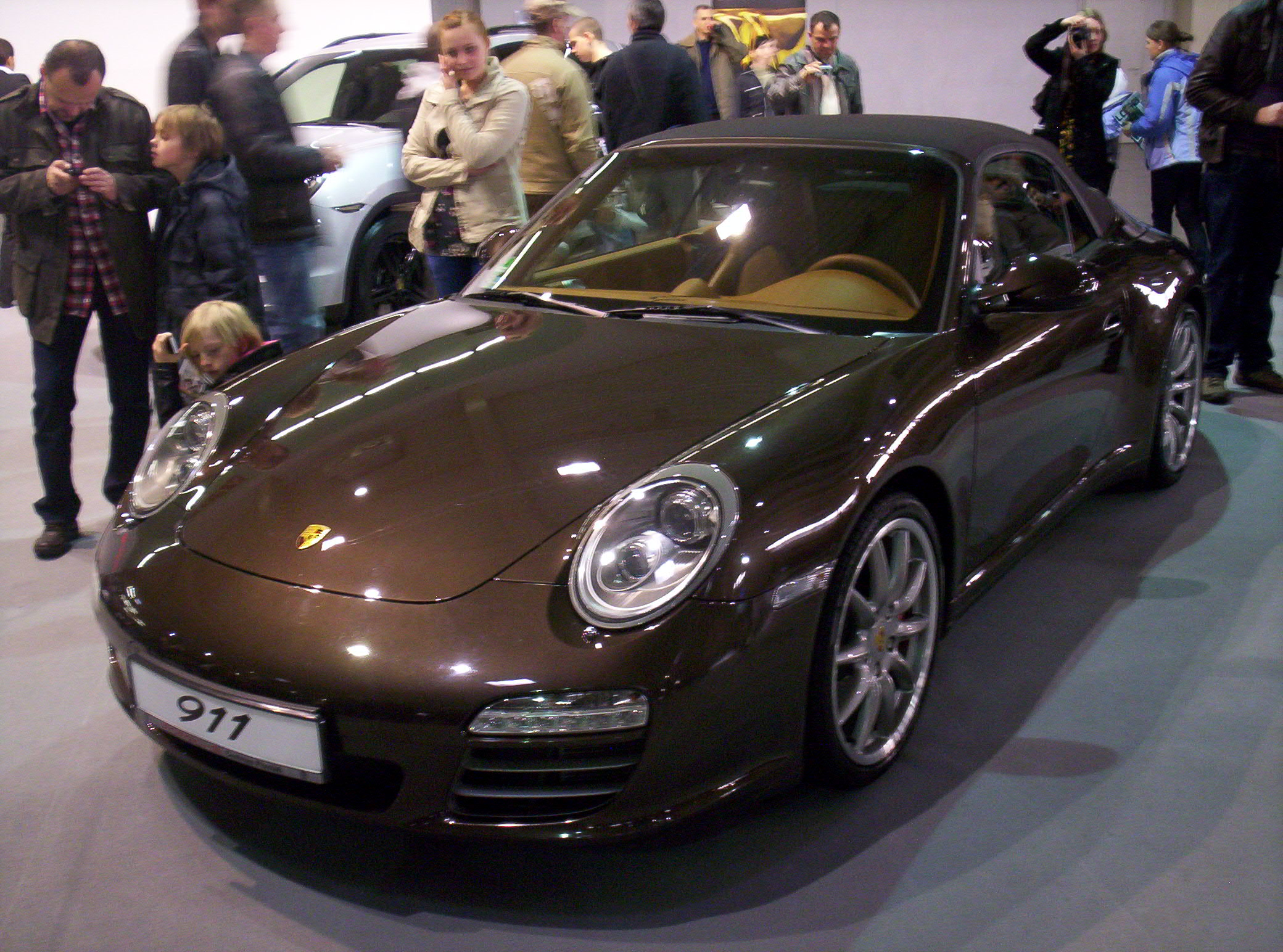 file porsche 911 997 carrera 4s front poznan. Black Bedroom Furniture Sets. Home Design Ideas