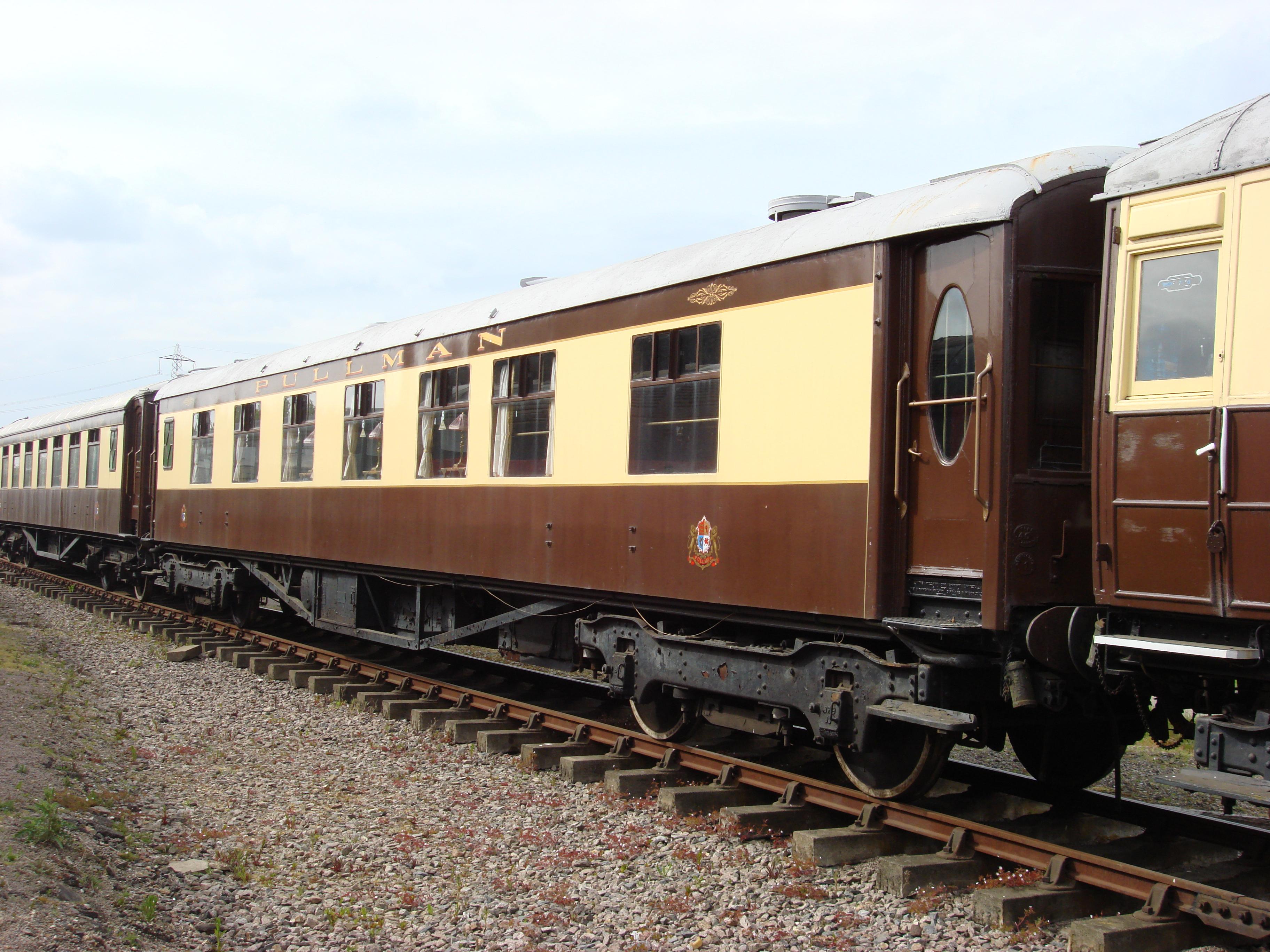 Pullman Train Car Rental
