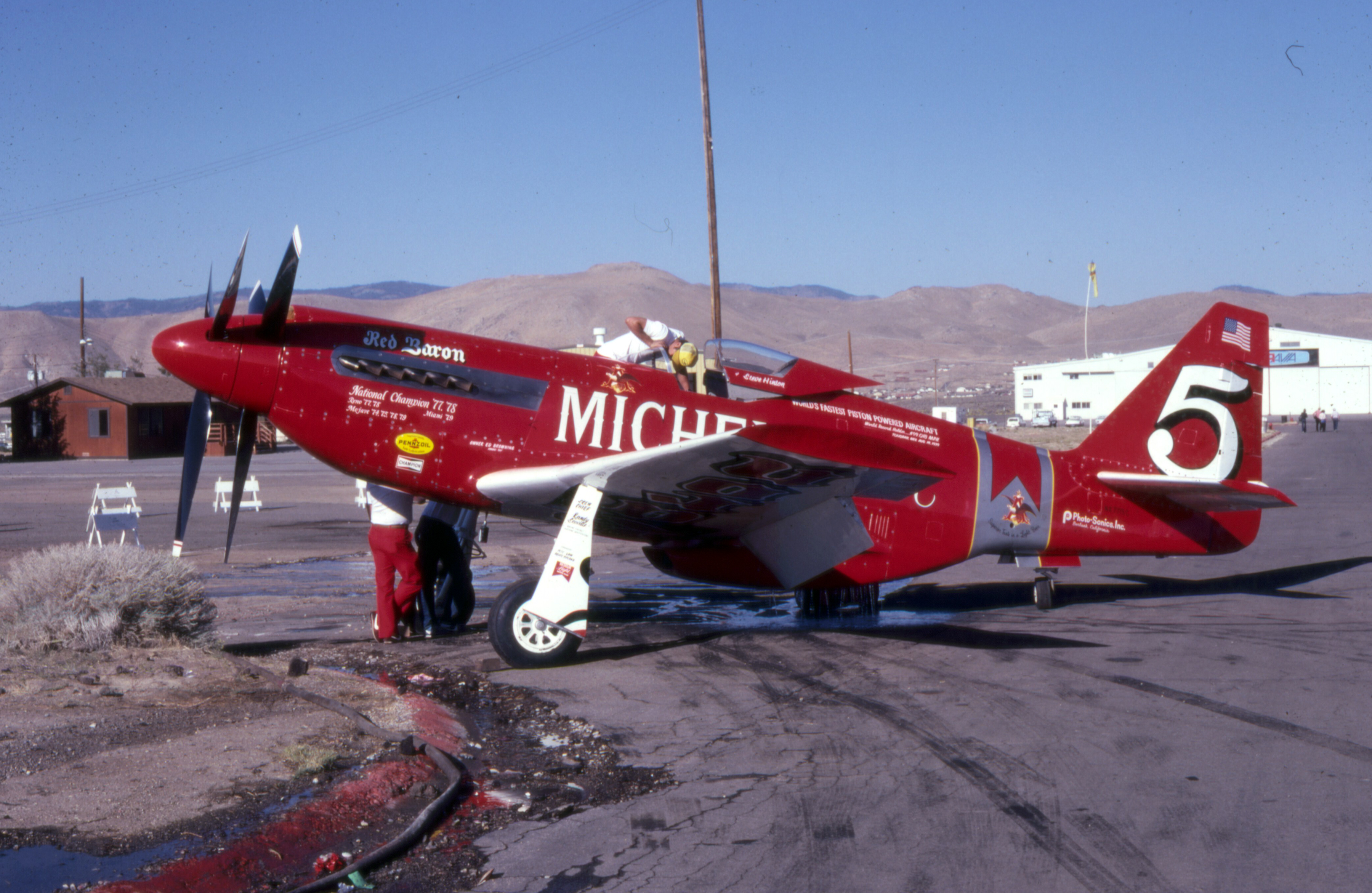 Image result for reno air races p-51