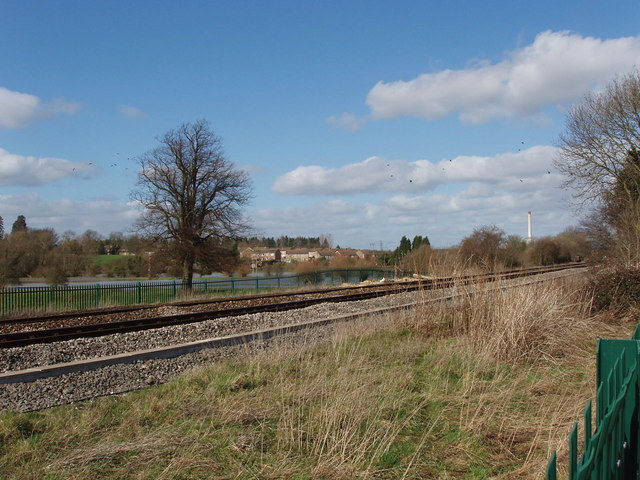 File:Railway at Hampton Gay, site of 1874 crash - geograph.org. No higher ...