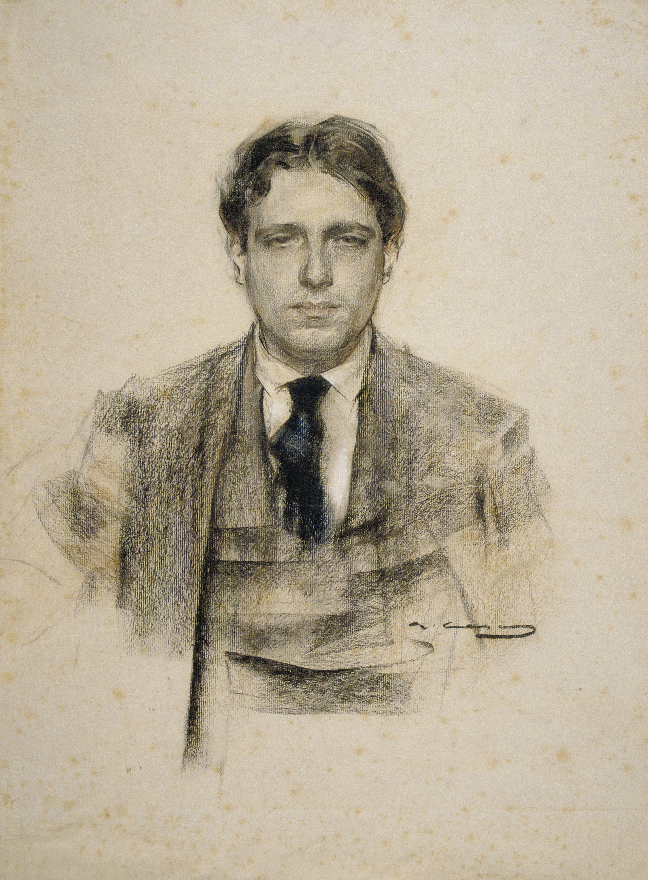 ''Eugeni d'Ors'' seen by [[Ramon Casas