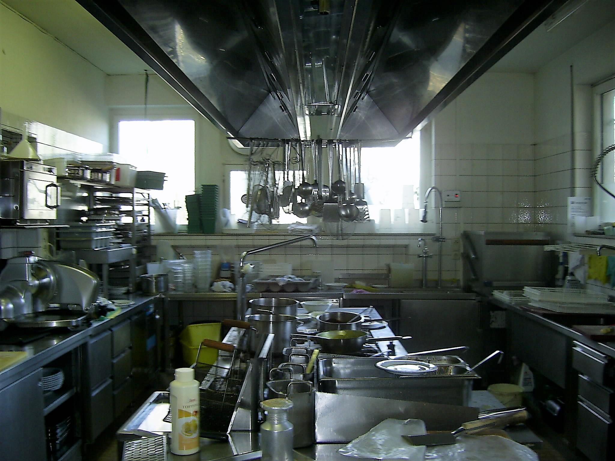 0 Edelstahl Gastro Küche