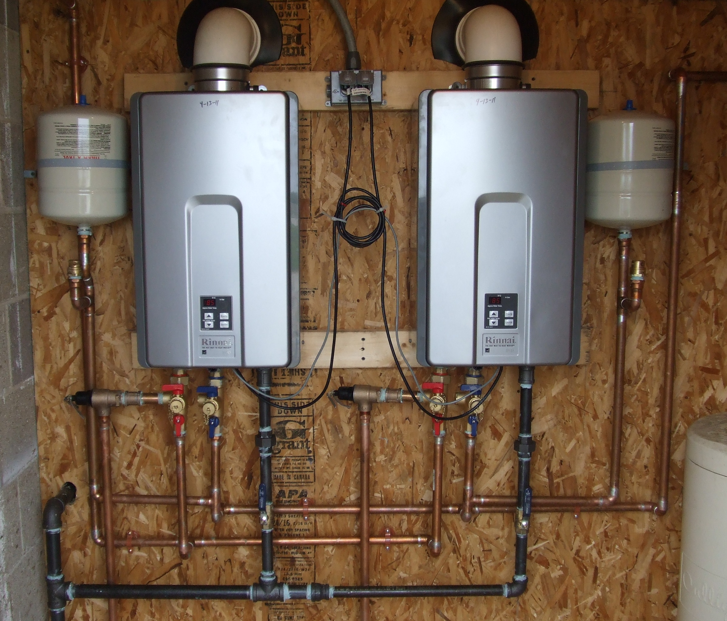Condensation Water Heater Water Heater Installation
