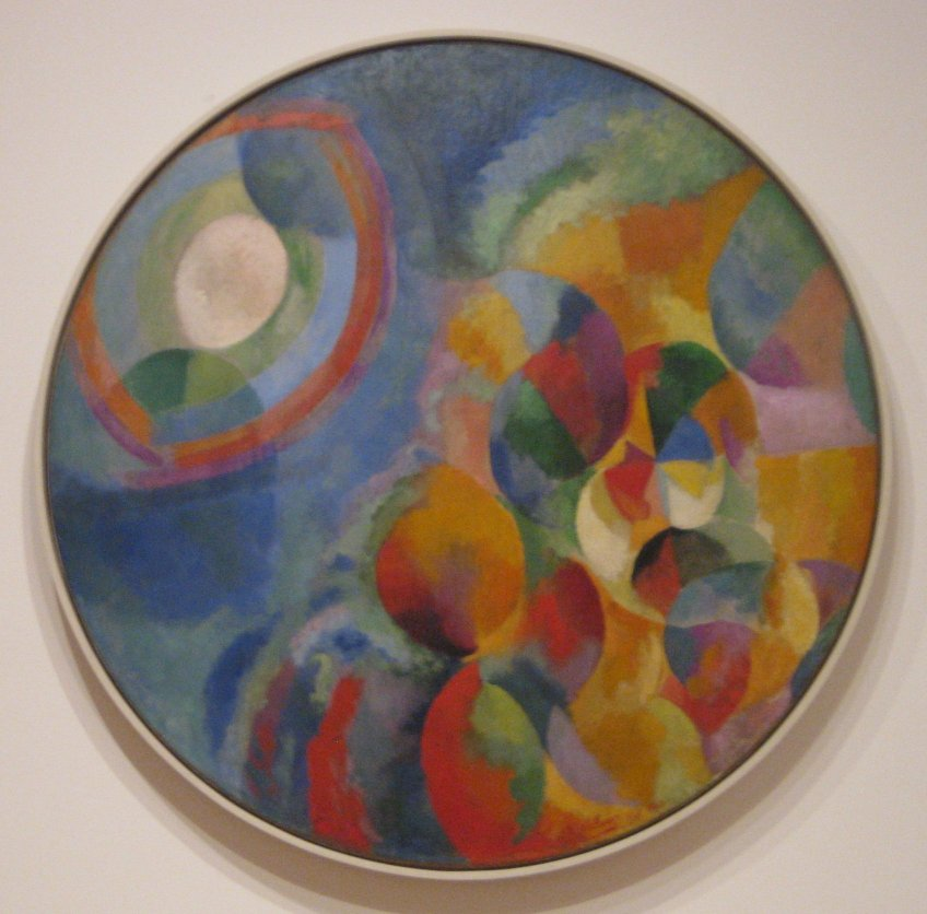 Robert Delaunay Simultaneous Contrasts Sun and Moon 1912 Robert DELAUNAY und Paris