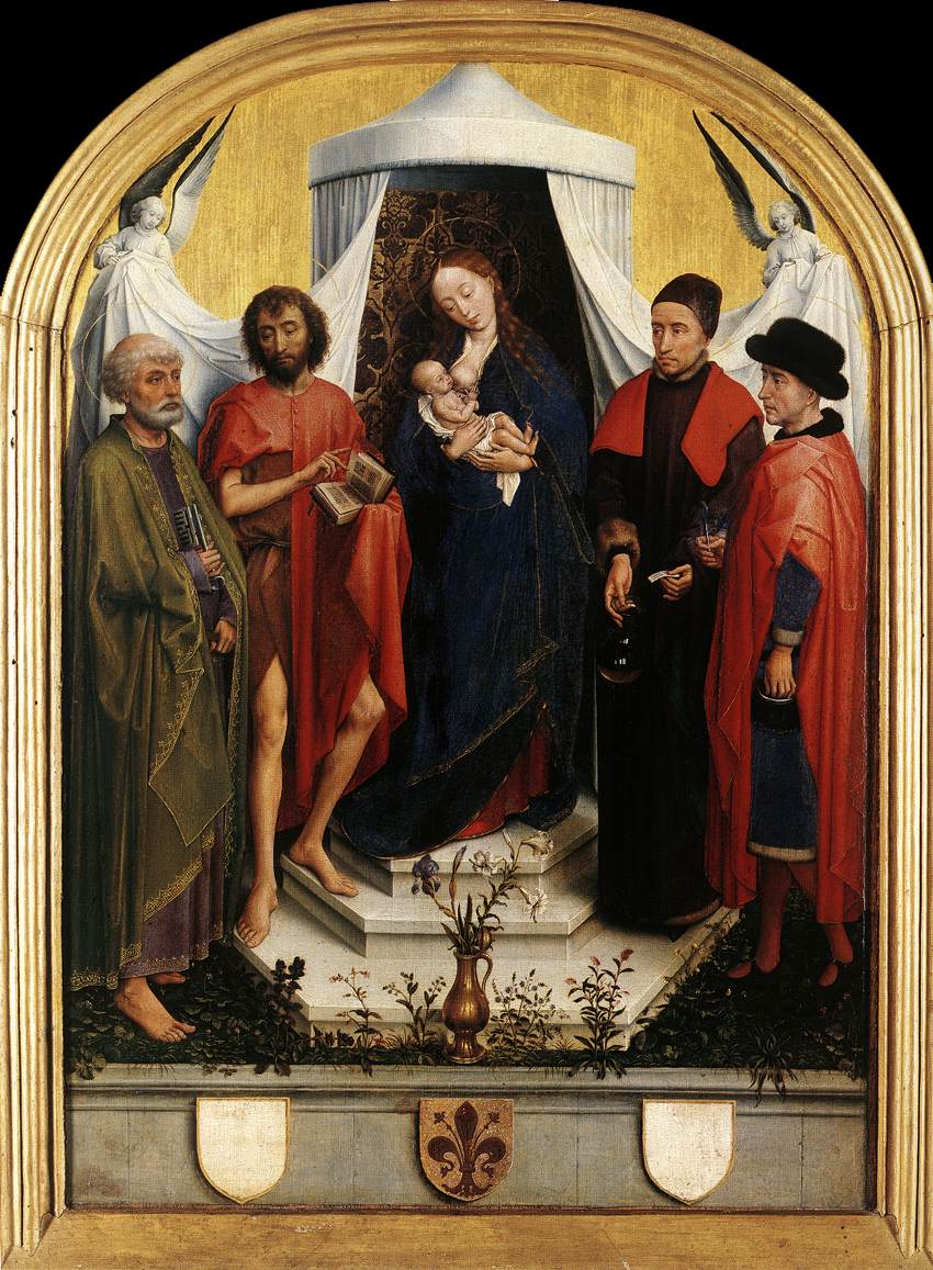 http://upload.wikimedia.org/wikipedia/commons/d/df/Rogier_van_der_Weyden_-_Virgin_with_the_Child_and_Four_Saints_-_WGA25719.jpg
