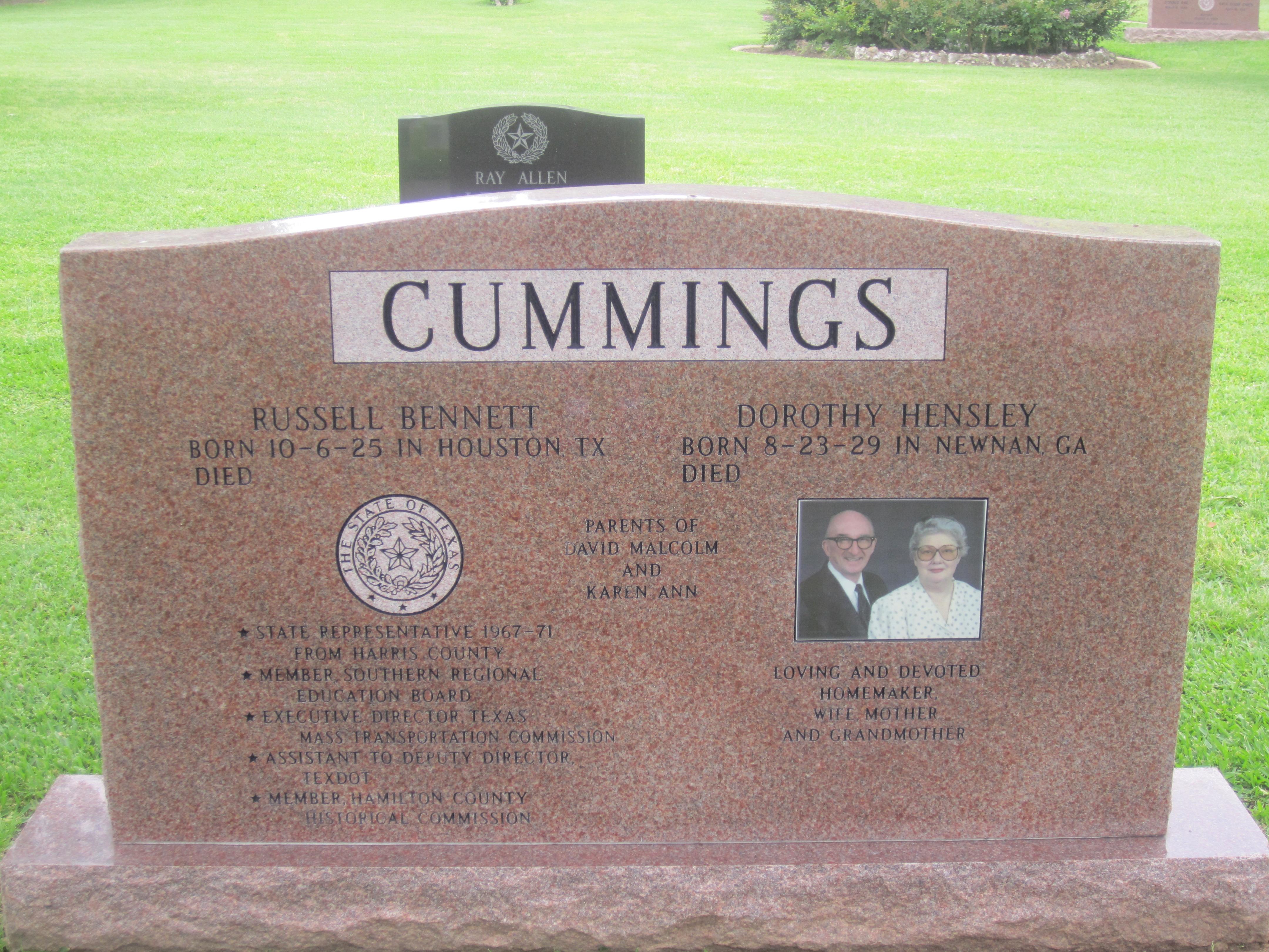 File:Russell Cummings tombstone, Austin, TX IMG 2167.JPG