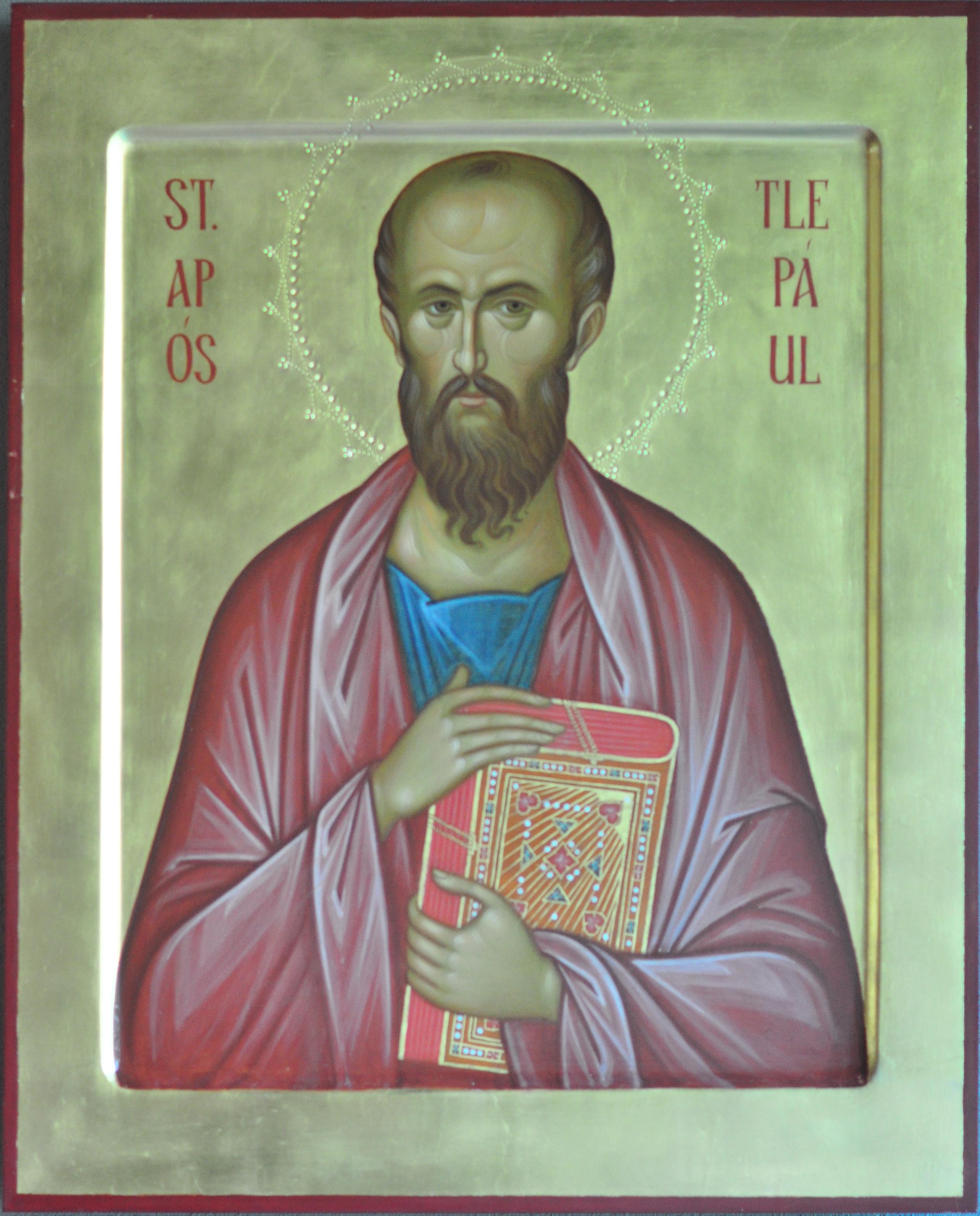 File:Seattle - St. Paul's Episcopal - icon of St. Paul ...