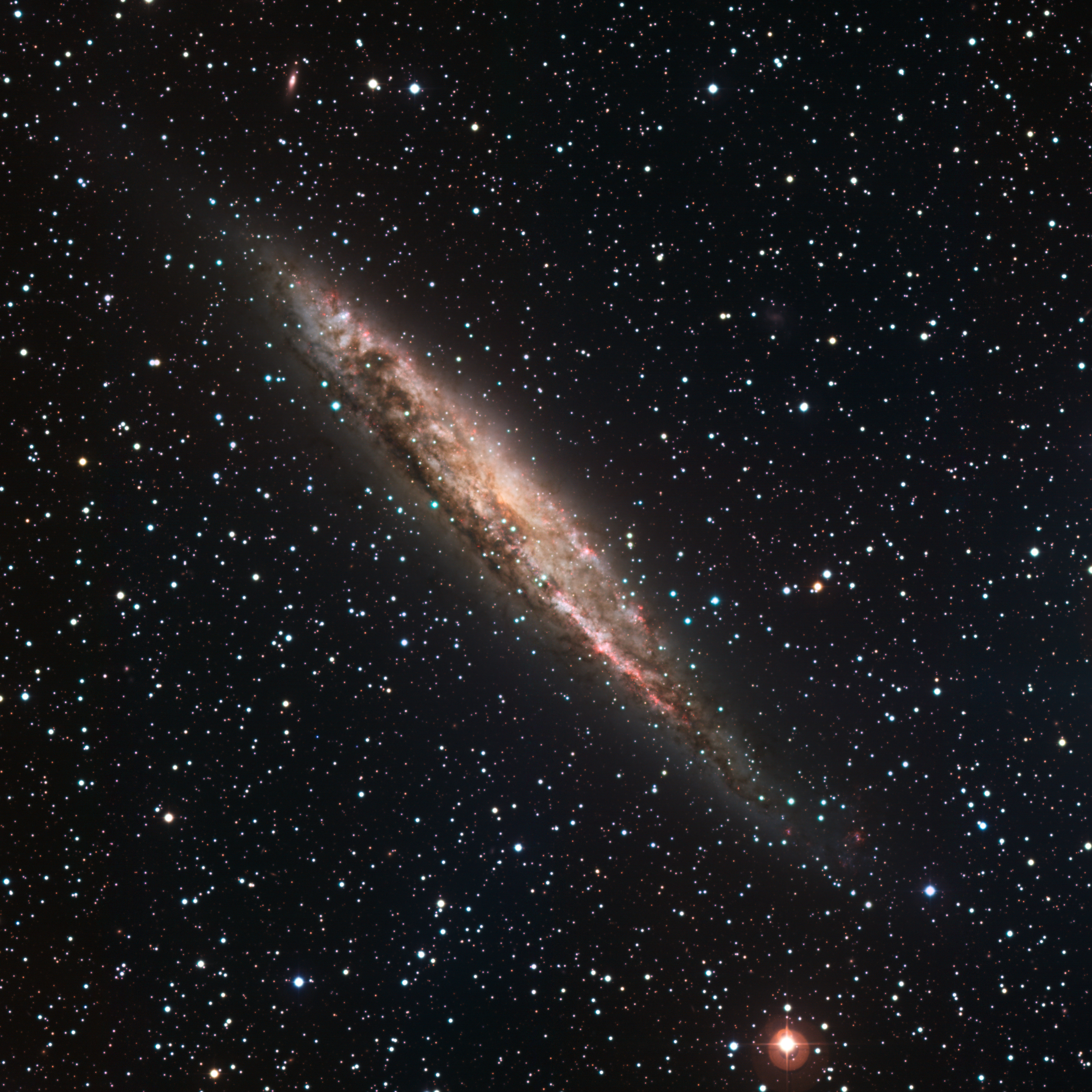 Depiction of NGC 4945