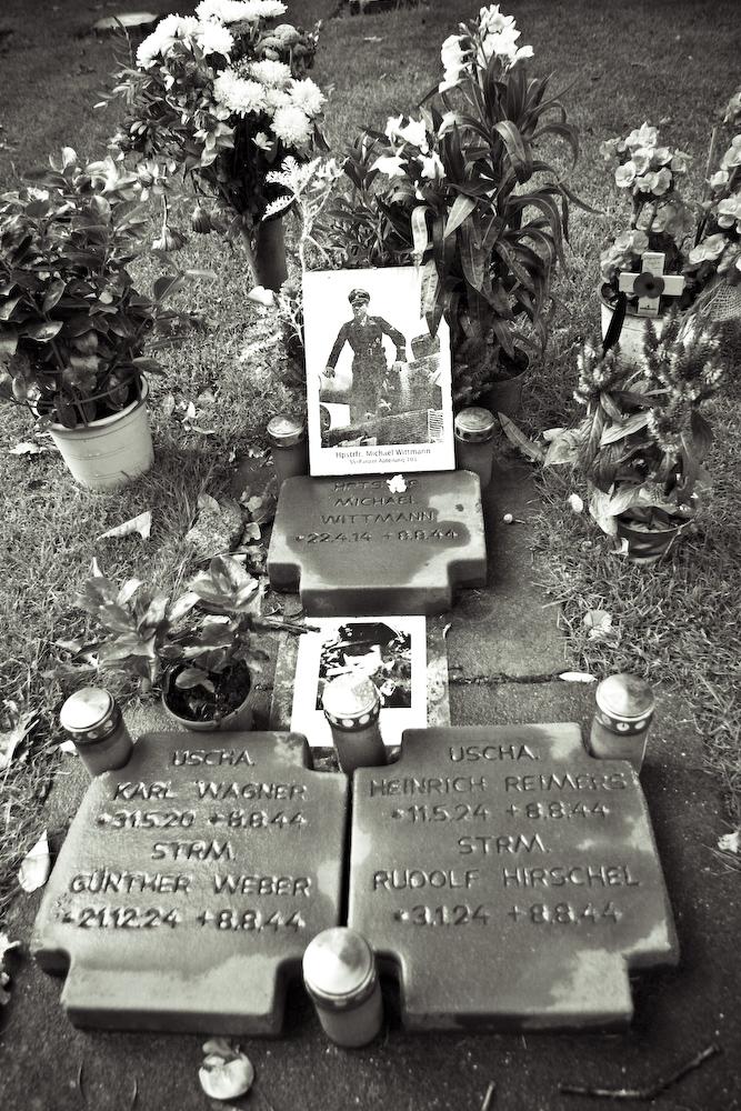 Michael Wittmann's grave