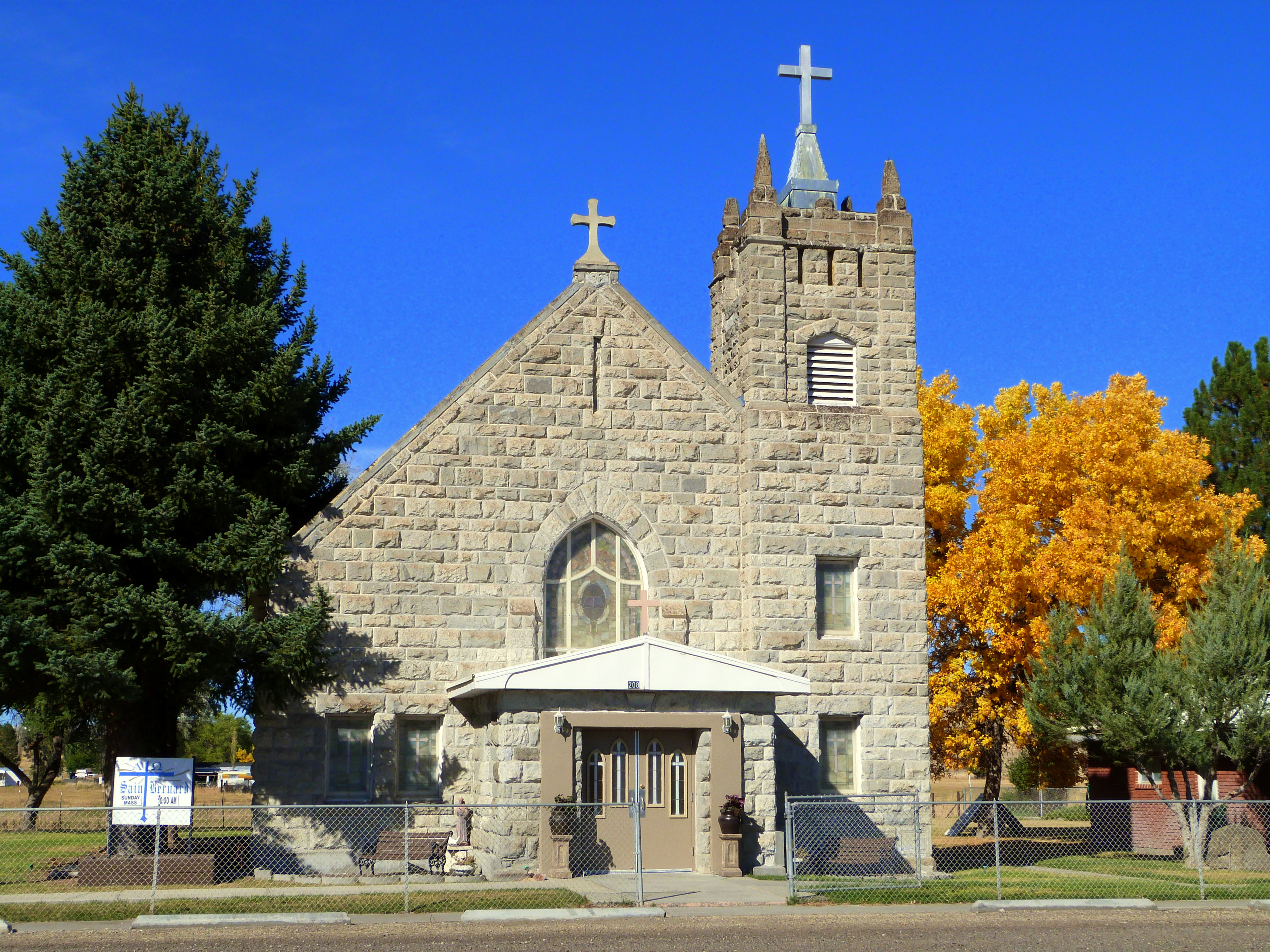 Fichier:St Bernard Catholic Church Jordan Valley Oregon