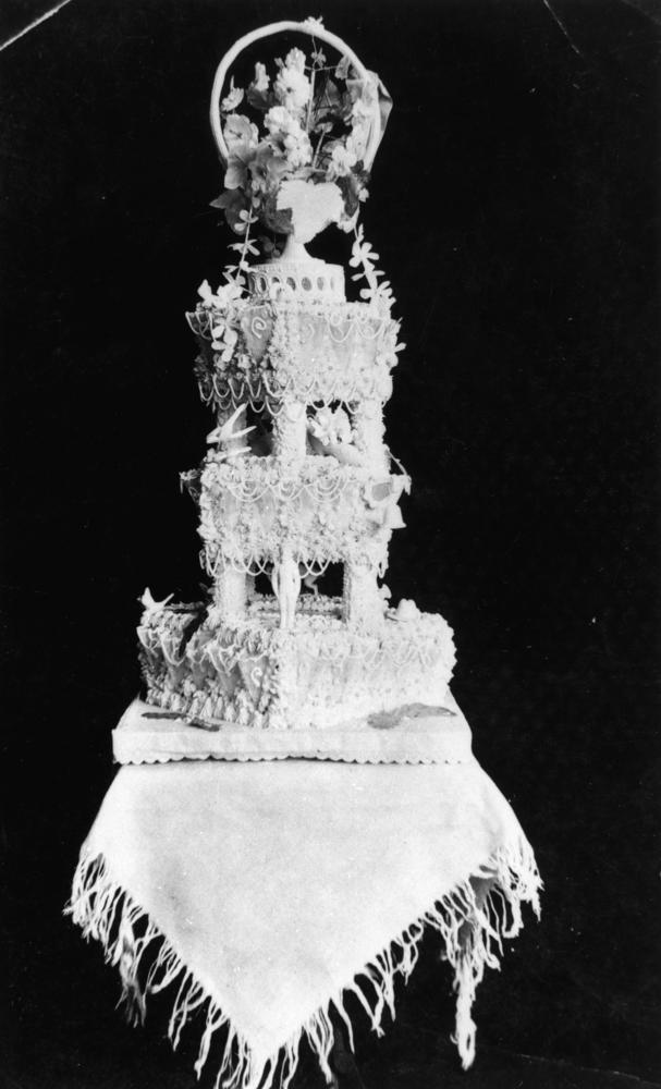 Tiered Wedding Cake Simple
