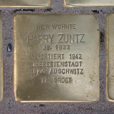 Stolperstein für Harry Zuntz