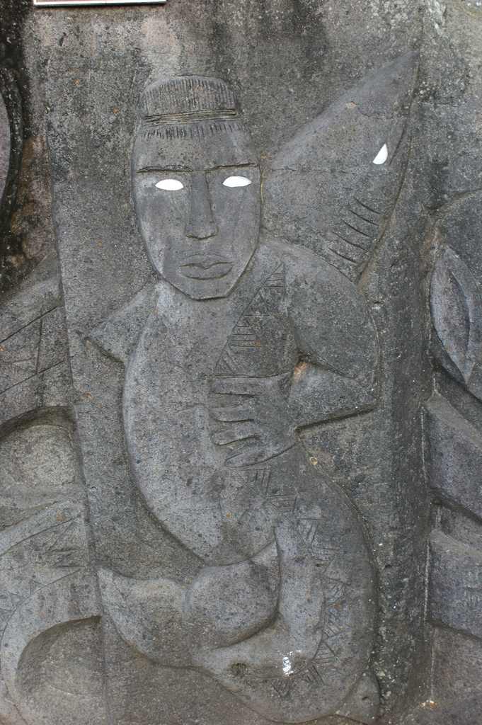 File stone carving in rarotonga cook islands g