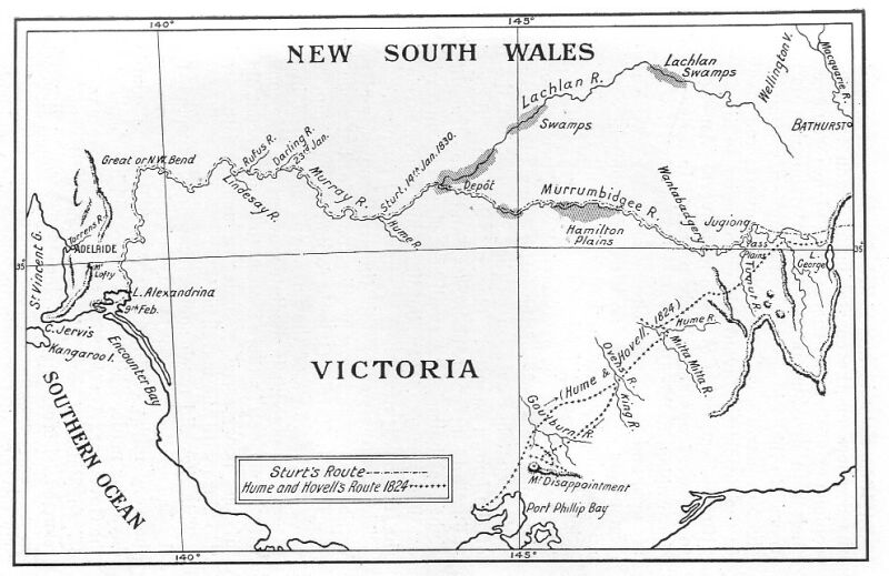 lake william hovell map Hume And Hovell Expedition Wikipedia lake william hovell map