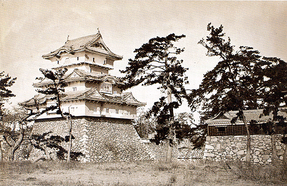 Takamatsu castle01 in 1882