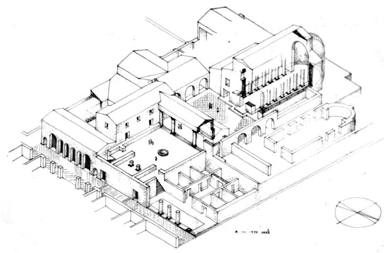 Line Drawing Jerusalem : File the caesarea praetorium g wikimedia commons