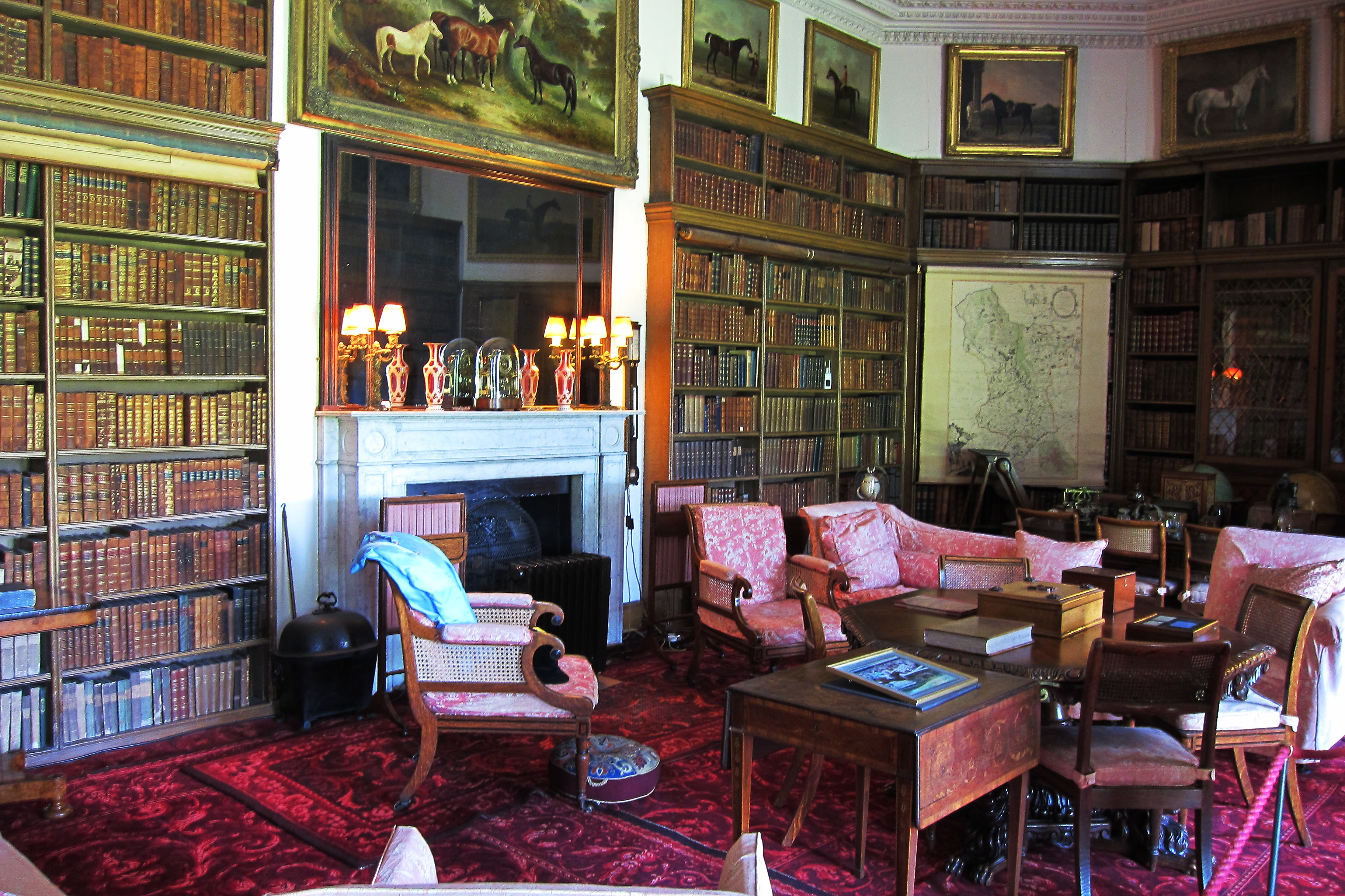 File The Drawing Room Calke Abbey Jpg Wikimedia Commons