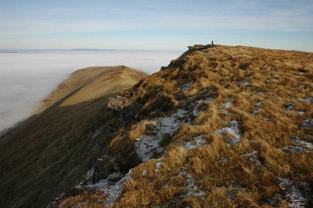 The summit of Fan y Big - geograph.org.uk - 1102818