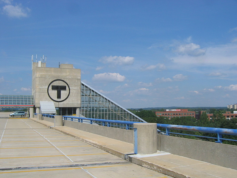 Amazing File:Top Of Alewife Station Parking Garage, September 2004