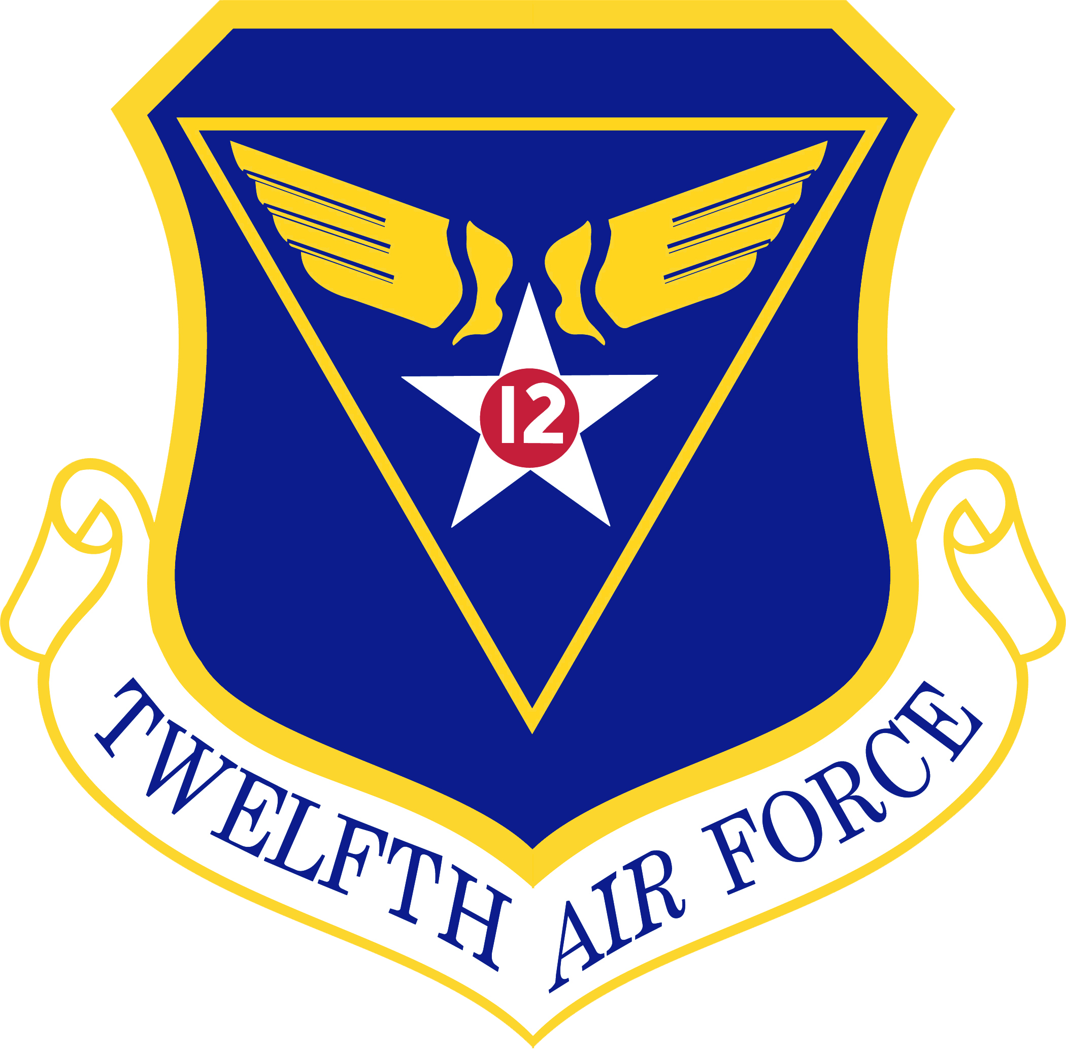 USAF - 12th AIR FORCE PATCH