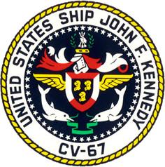 USS John F. Kennedy CV-67 Crest