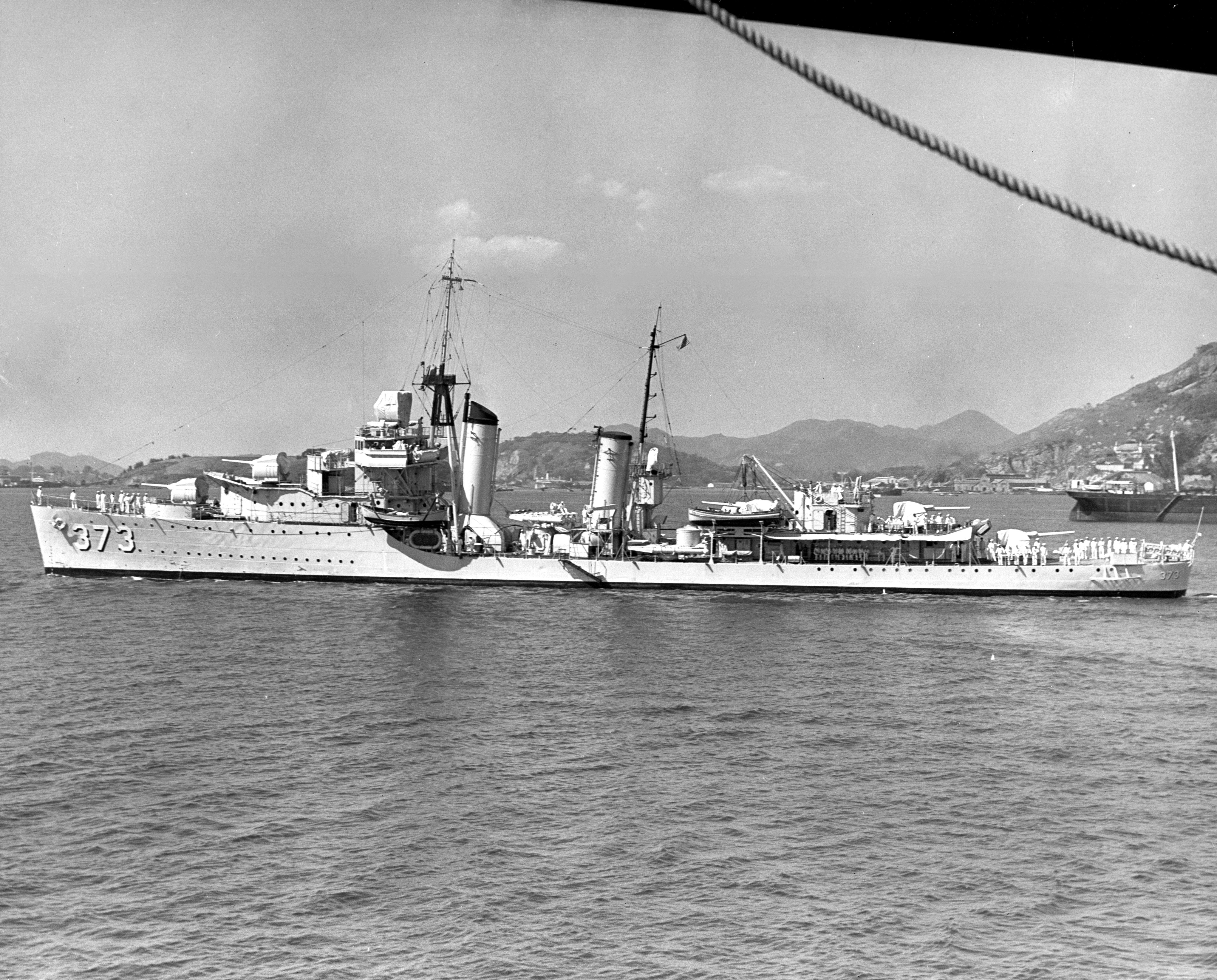 USS Shaw (DD-373) - Wikipedia