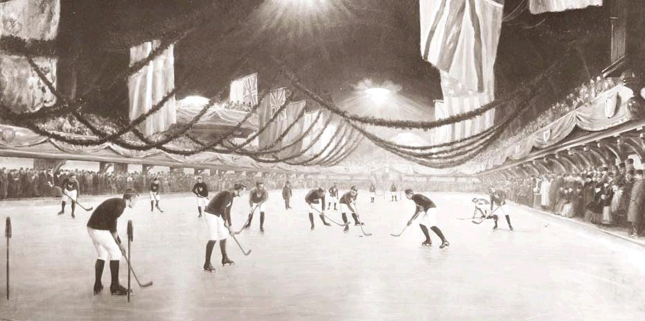 First Indoor Ice Hockey Game Wikipedia