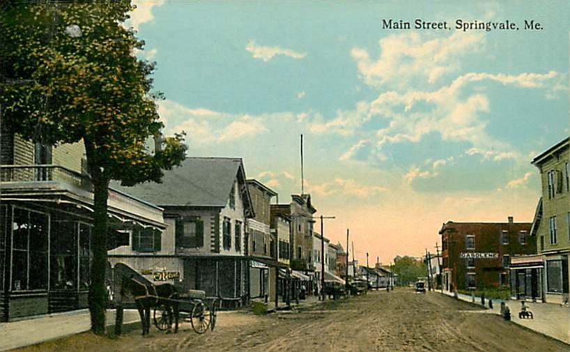 File:View of Main Street, Springvale, ME.jpg - Wikimedia Commons on noble park, box hill, caroline springs, glen waverley,