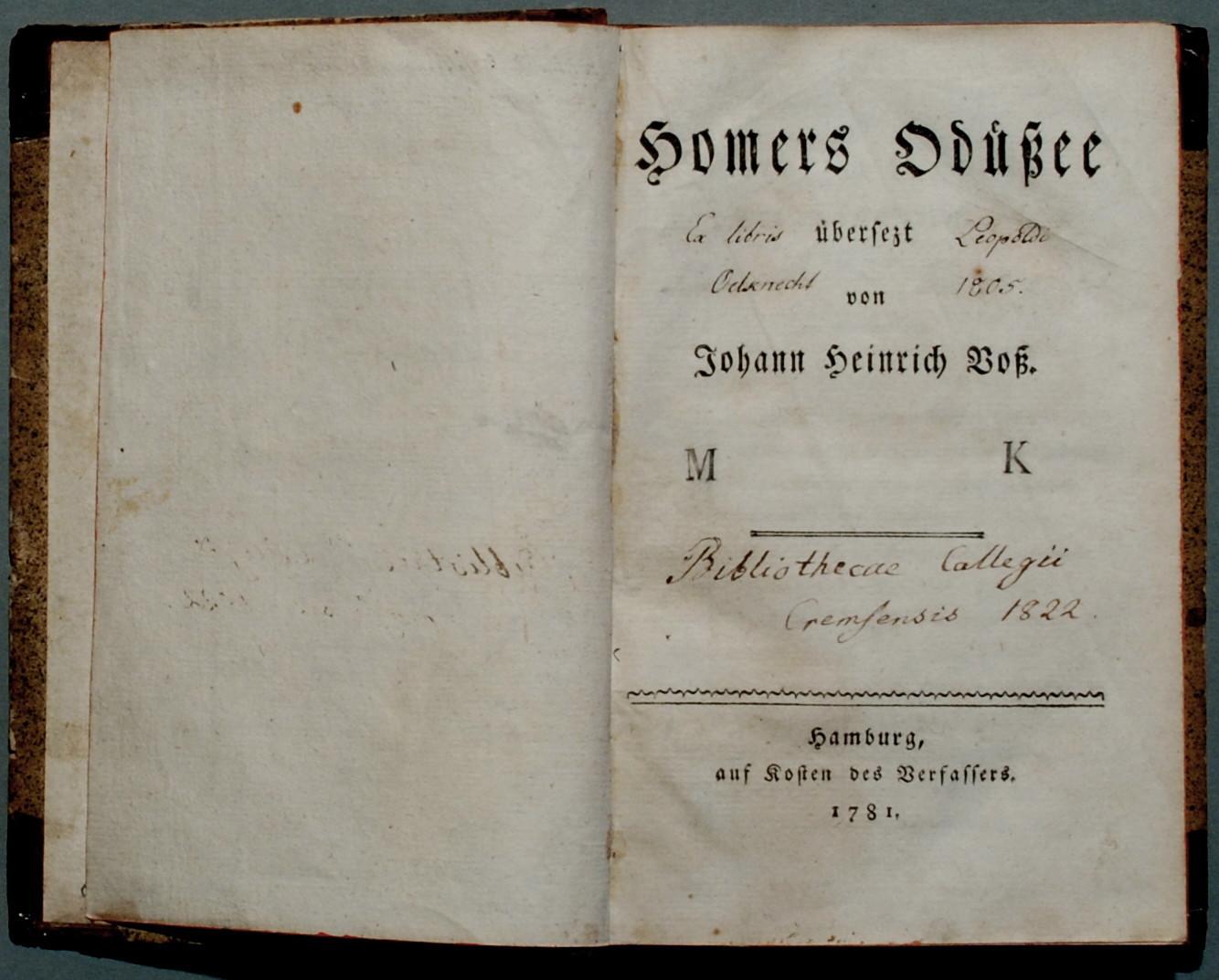 Johann Heinrich Voß –