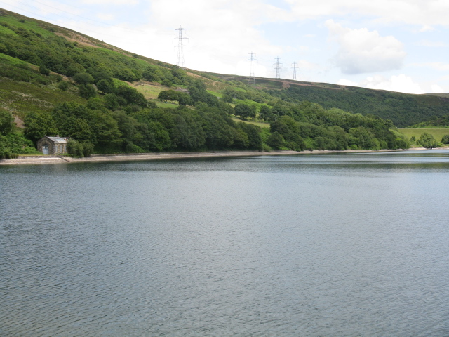 Walkerwood Reservoir - General View - geograph.org.uk - 1399310