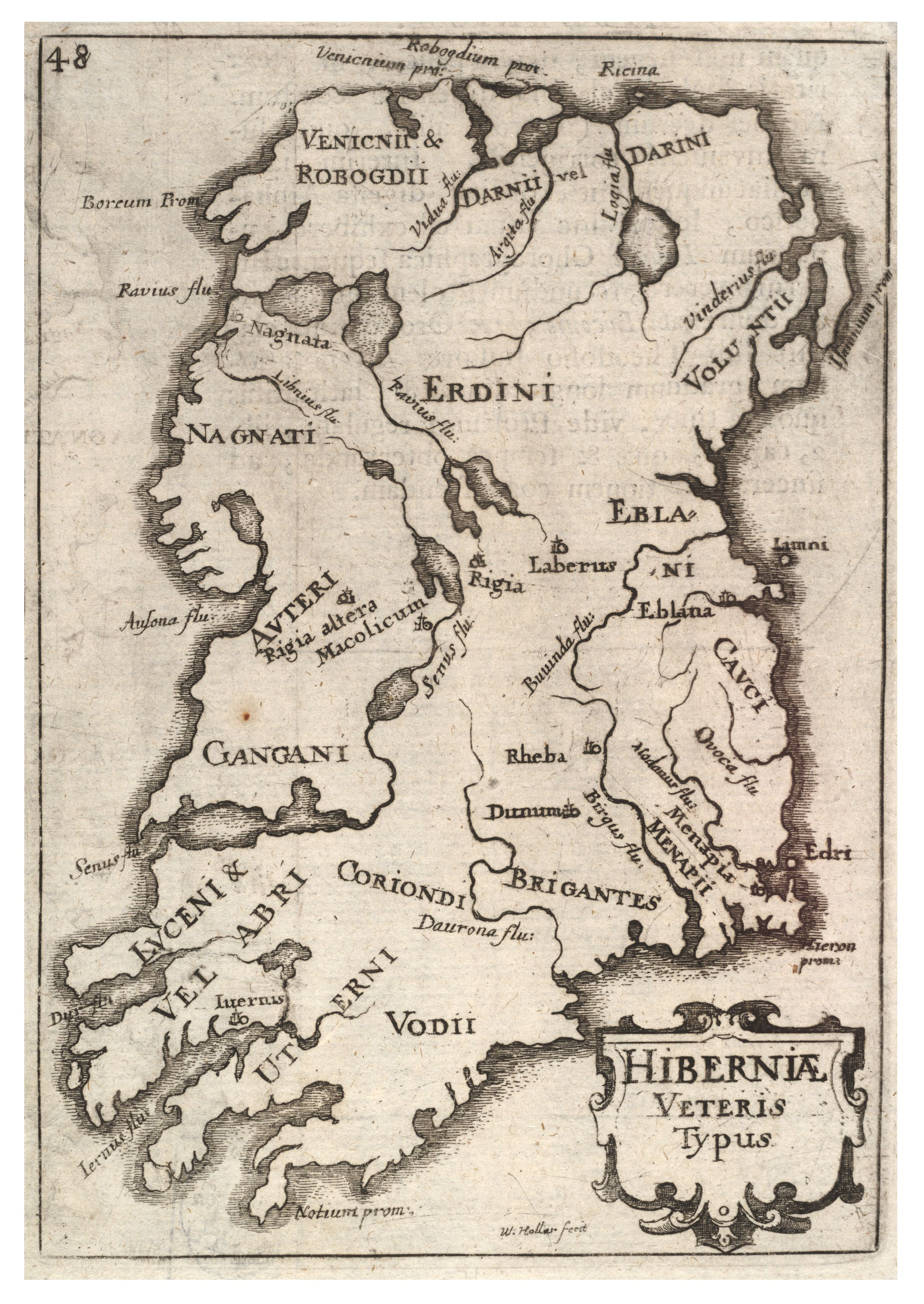 Map Of Ireland 1916.Vaizdas Wenceslas Hollar Ireland State 2 Jpg Vikipedija