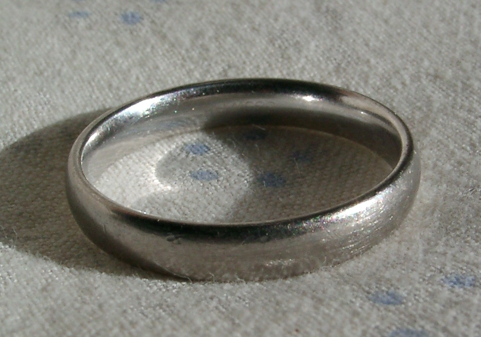 Gold Silver Alloy Ring