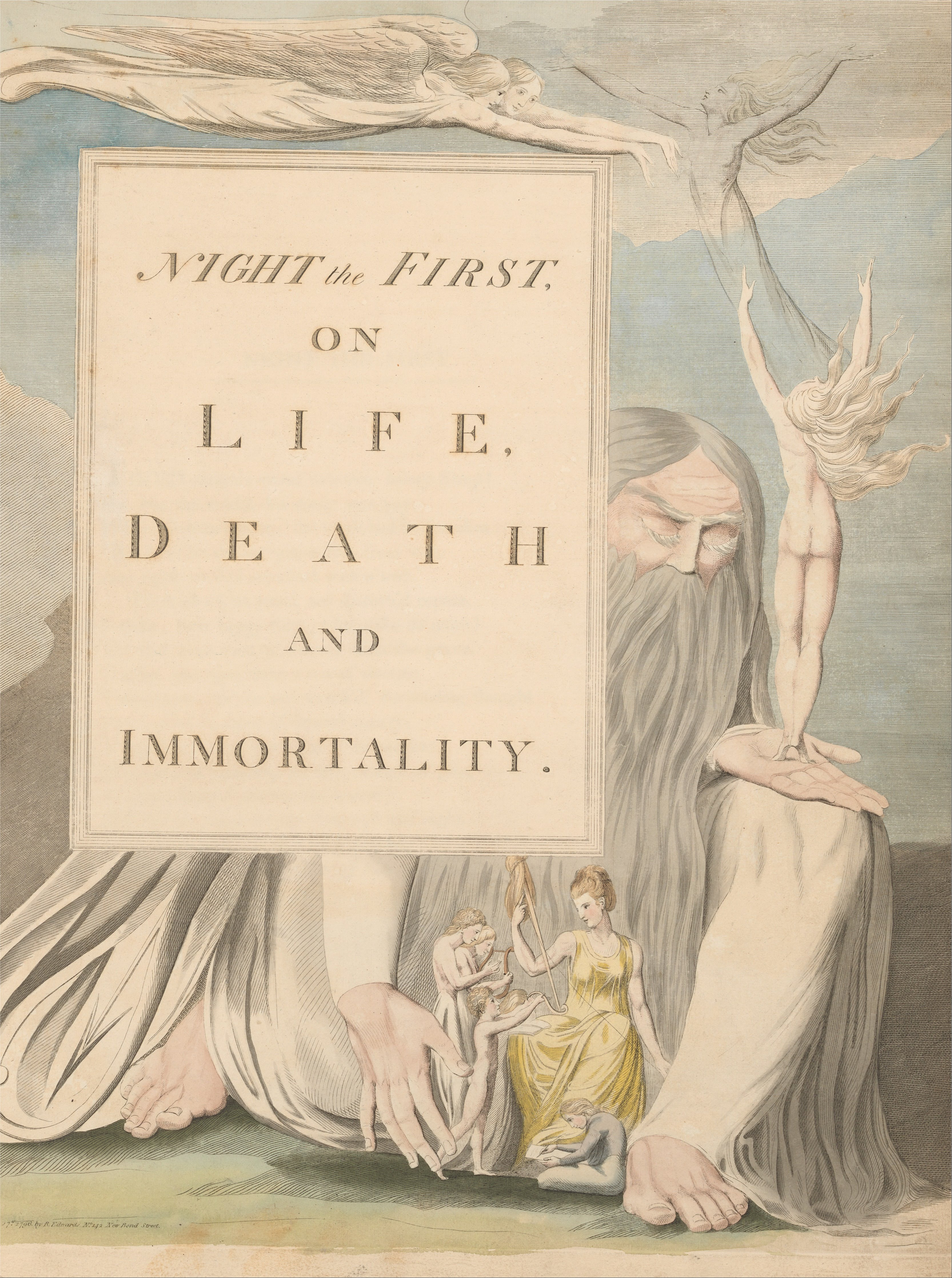 the early life and times of william blake 'romantic outlaws': the mary wollstonecraft-william blake connection  among  the more fascinating figures from cultural history who shows up in  at the time of  this work, blake was living in london, operating a print shop,.