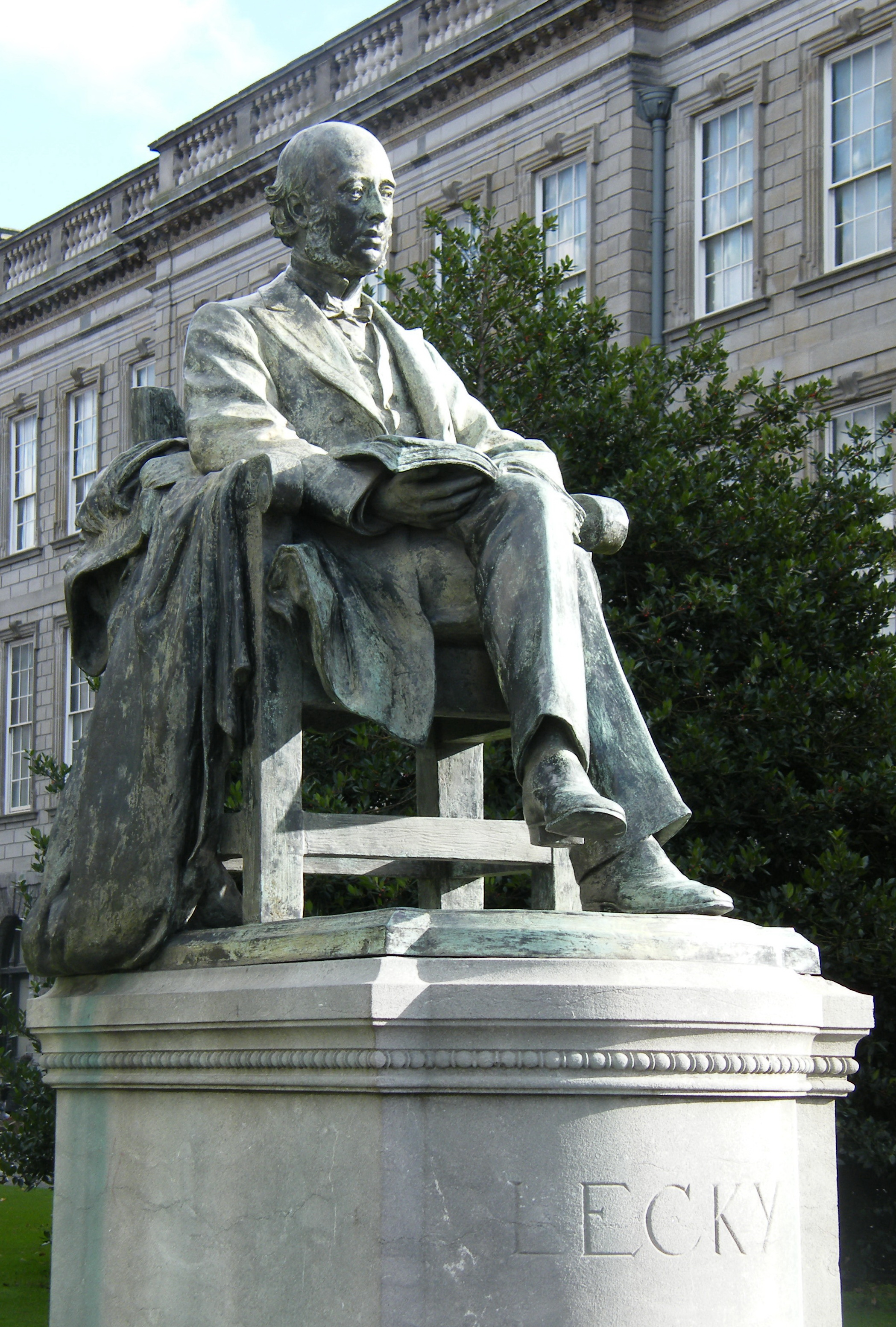 William Edward Hartpole Lecky at Trinity College, Dublin