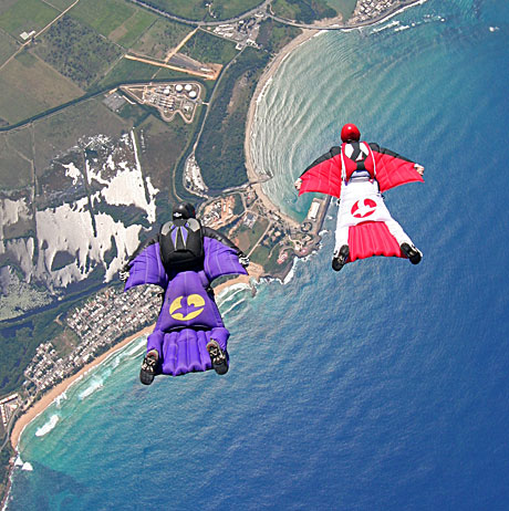 Wingsuits in flight