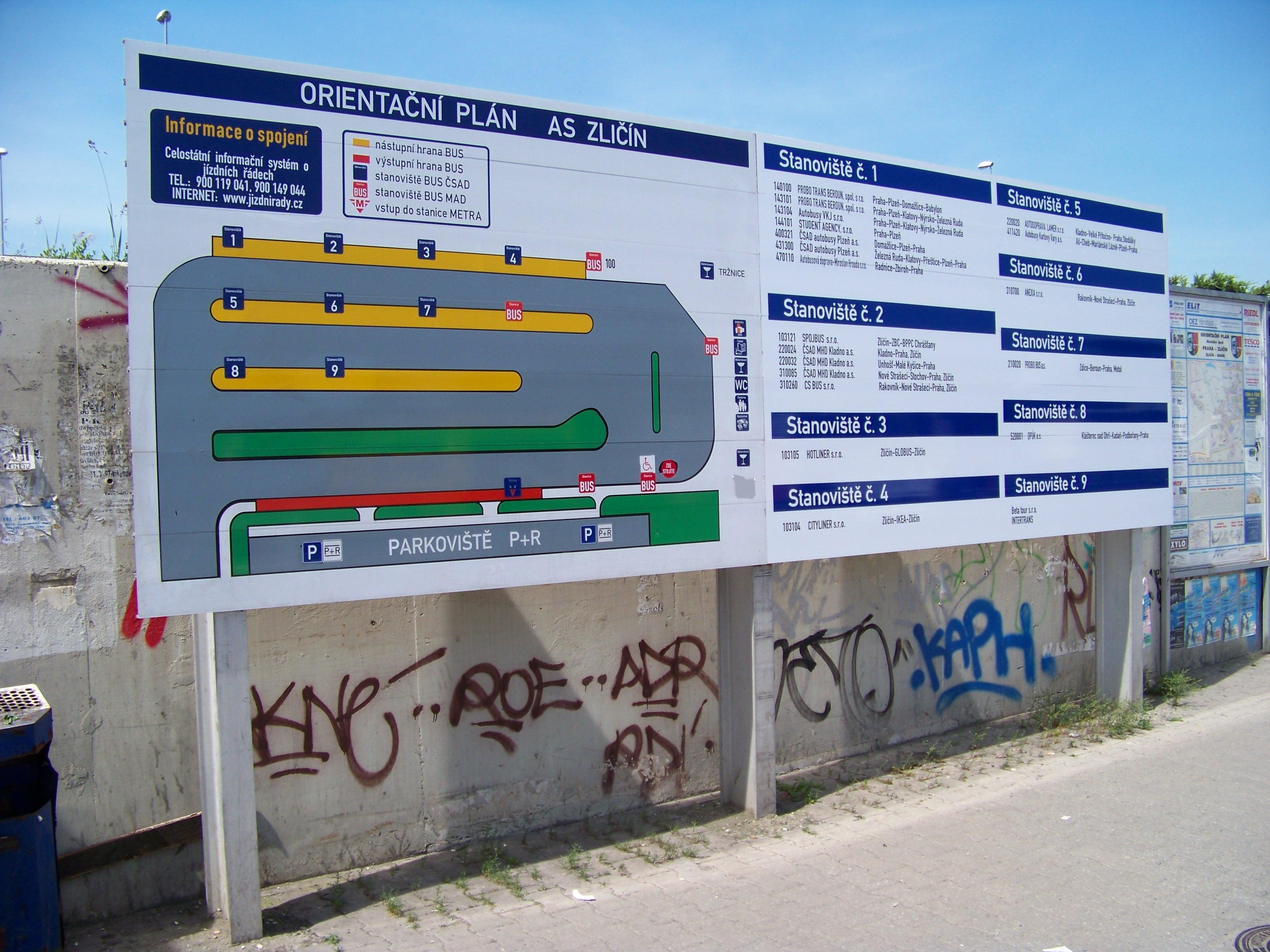 File Zlicin Orientacni Plan Autobusoveho Stanoviste Jpg