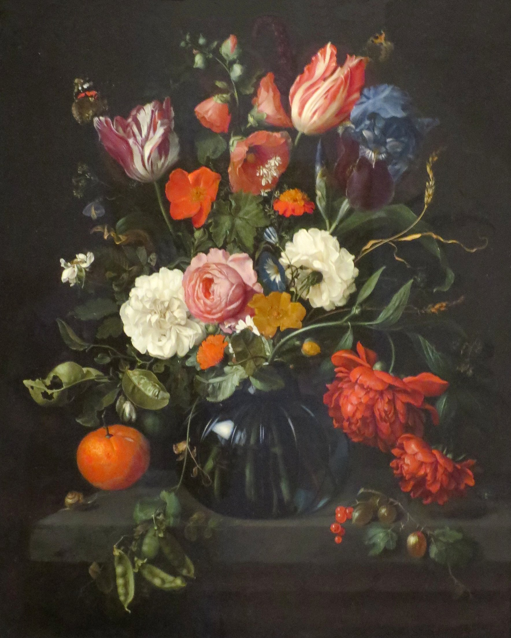File Vase Of Flowers By Jan Davidsz De Heem 1654 Norton Simon Museum Jpg Wikimedia Commons