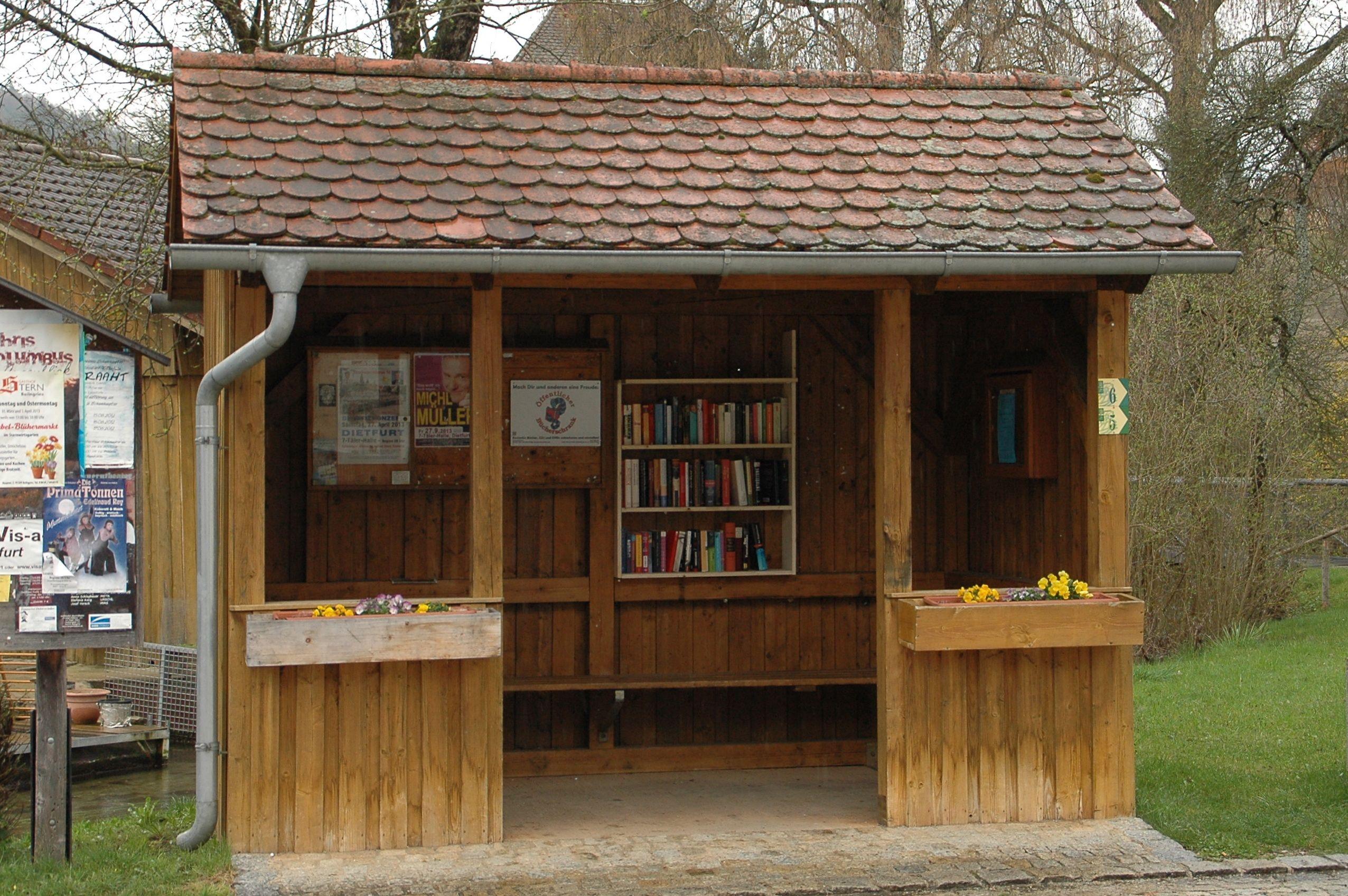 Öffentlicher Bücherschrank Mühlbach
