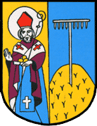 Nieoficjalny herb wsi Łąka