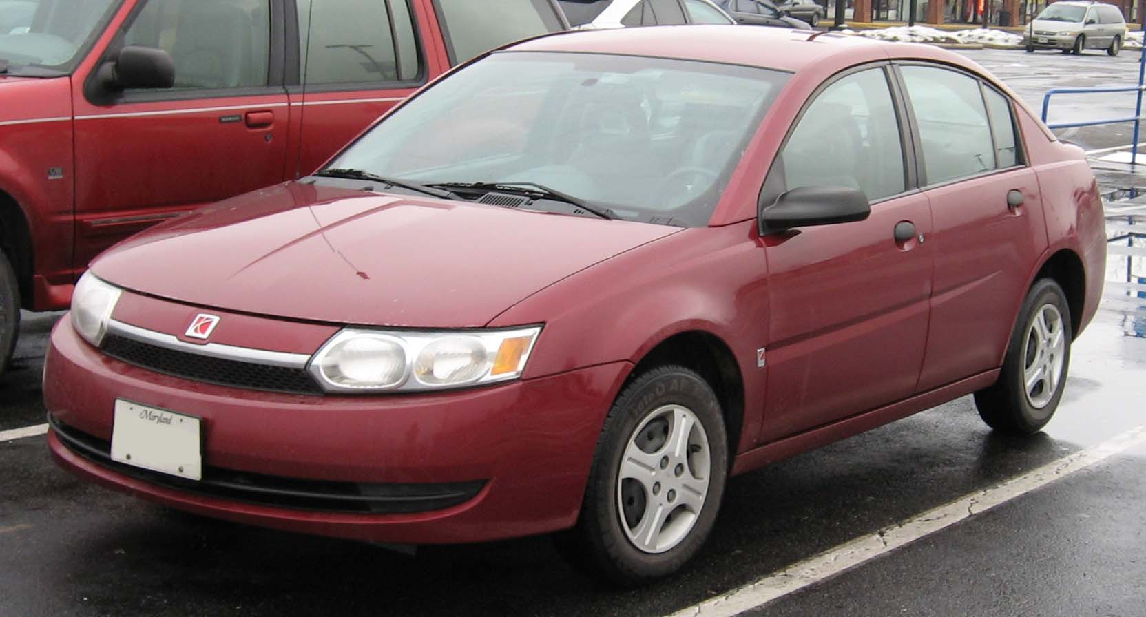 Saturn saturn 2004 : File:03-04 Saturn Ion sedan.jpg - Wikimedia Commons