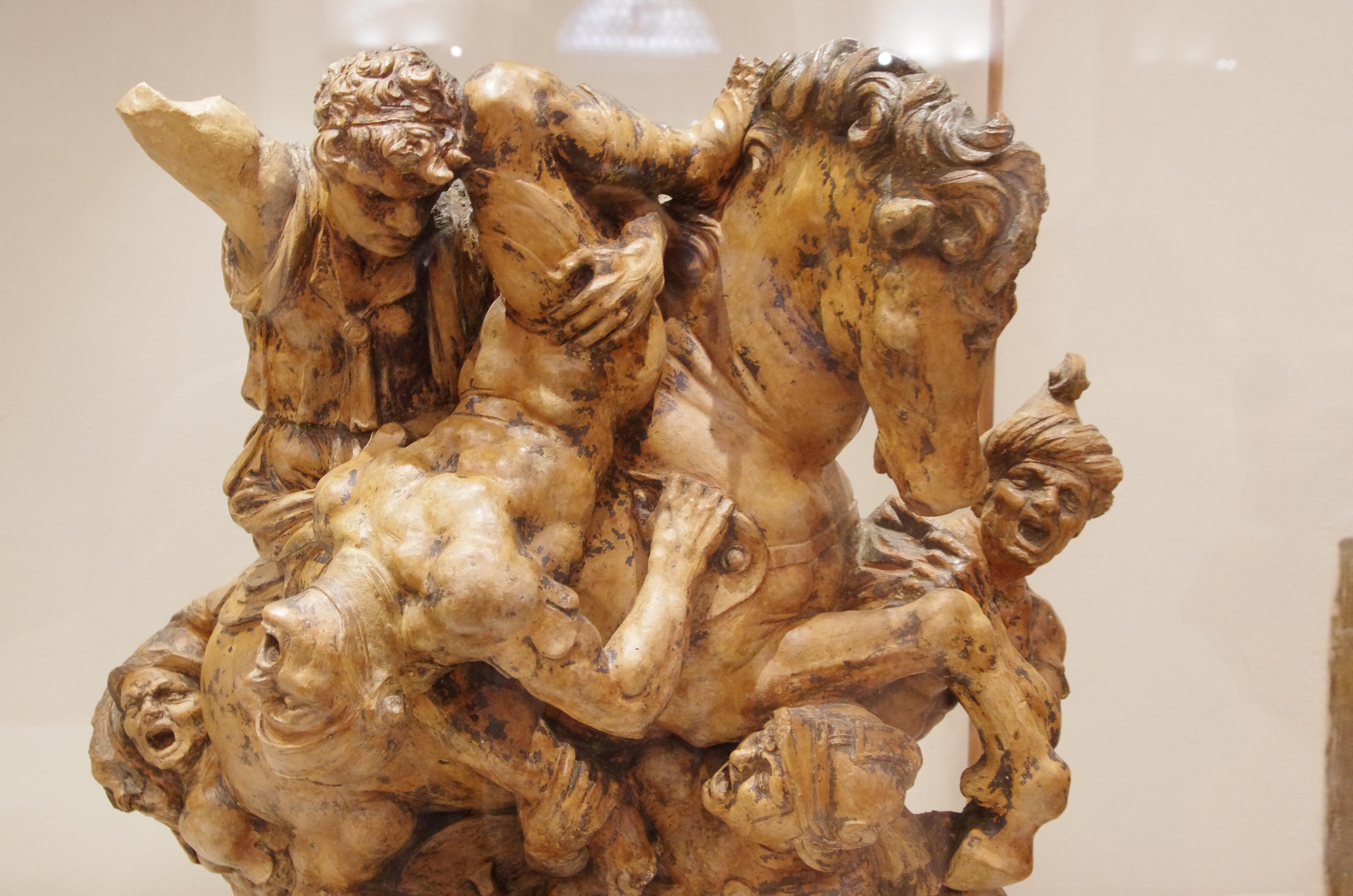 Museo Leonardo Da Vinci Firenze.File 03 2015 Giovan Francesco Rustici Da La Battaglia Di Anghiari Di
