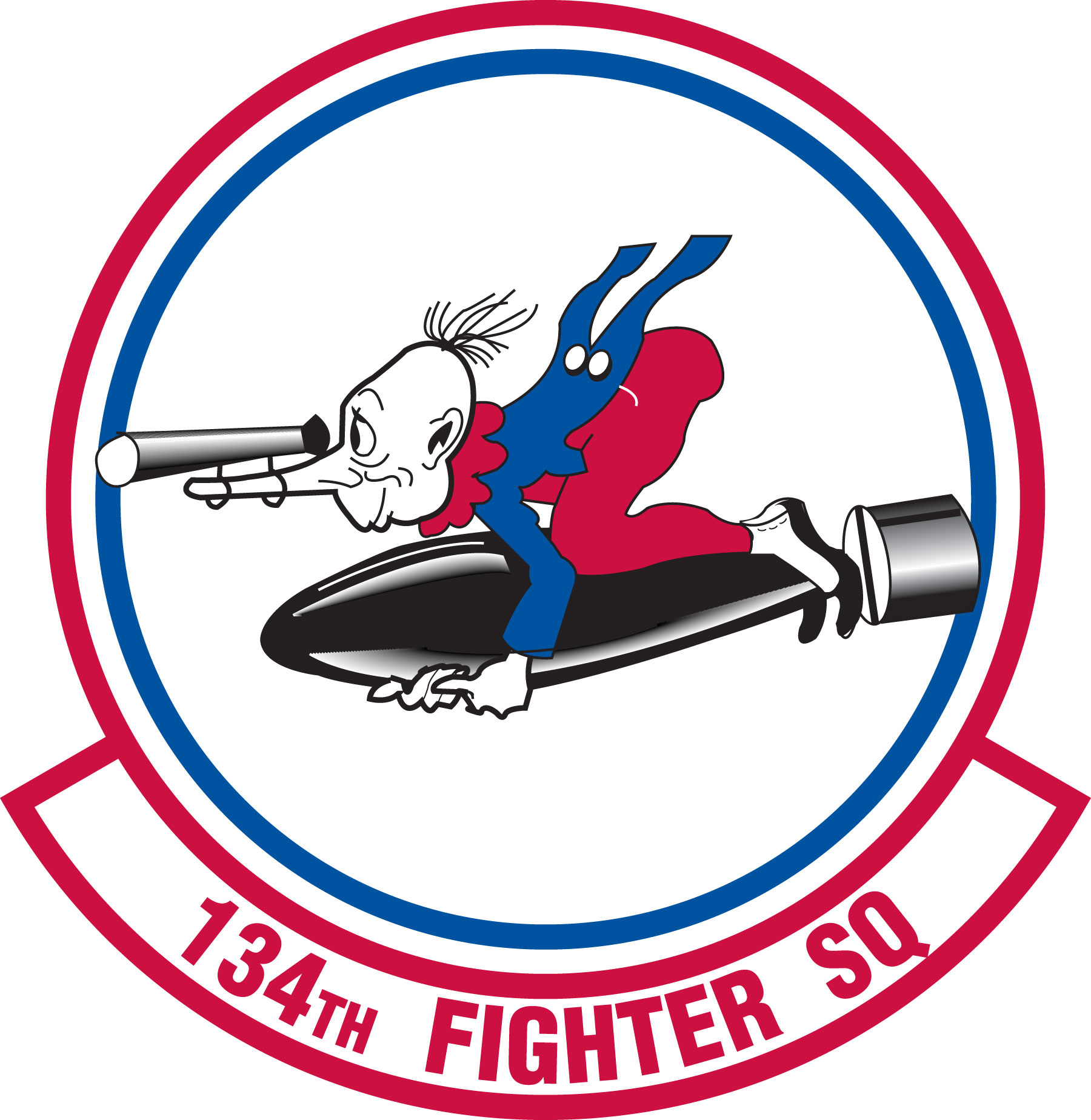 Fighter Squadron Logo 134th Fighter Squadron Emblem
