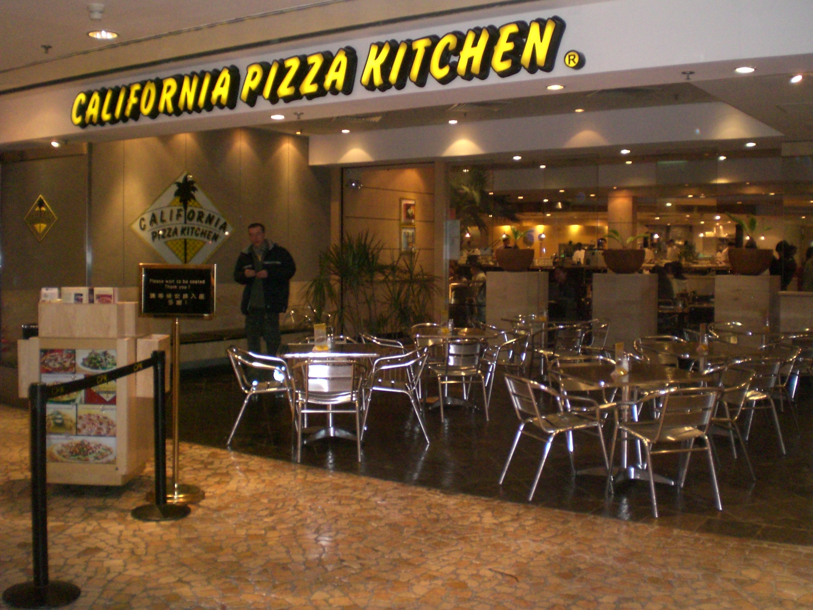 California Pizza Kitchen Salad Pizza
