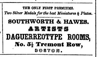Advertisement, 1849 Boston Directory