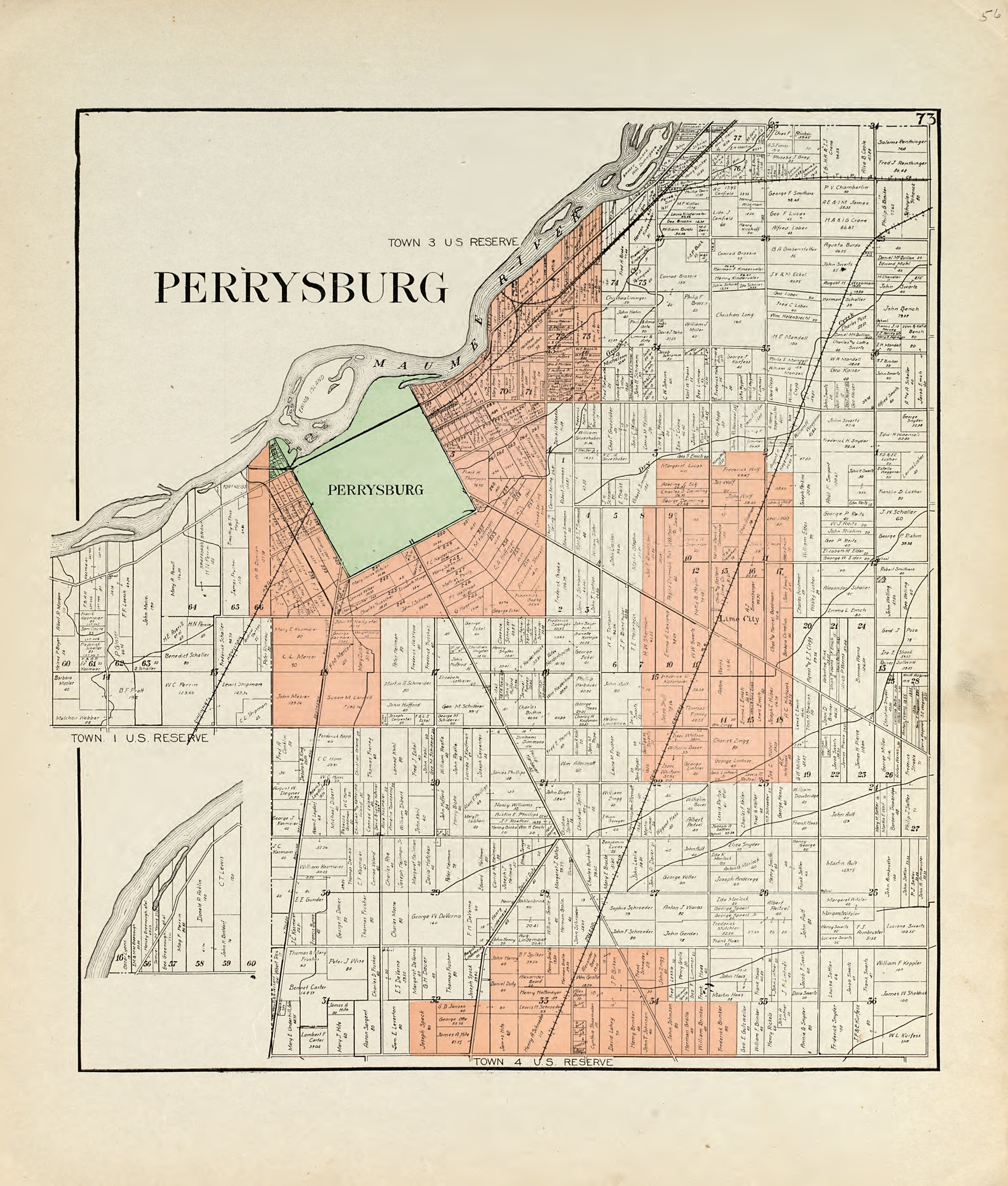 Perrysburg Ohio Map File:1912 Perrysburg Ohio map.   Wikimedia Commons