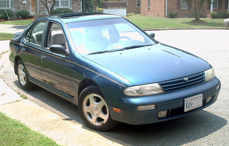 Nissan Altima 3.0 >> File:1995 Nissan Altima SE.JPG - Wikimedia Commons