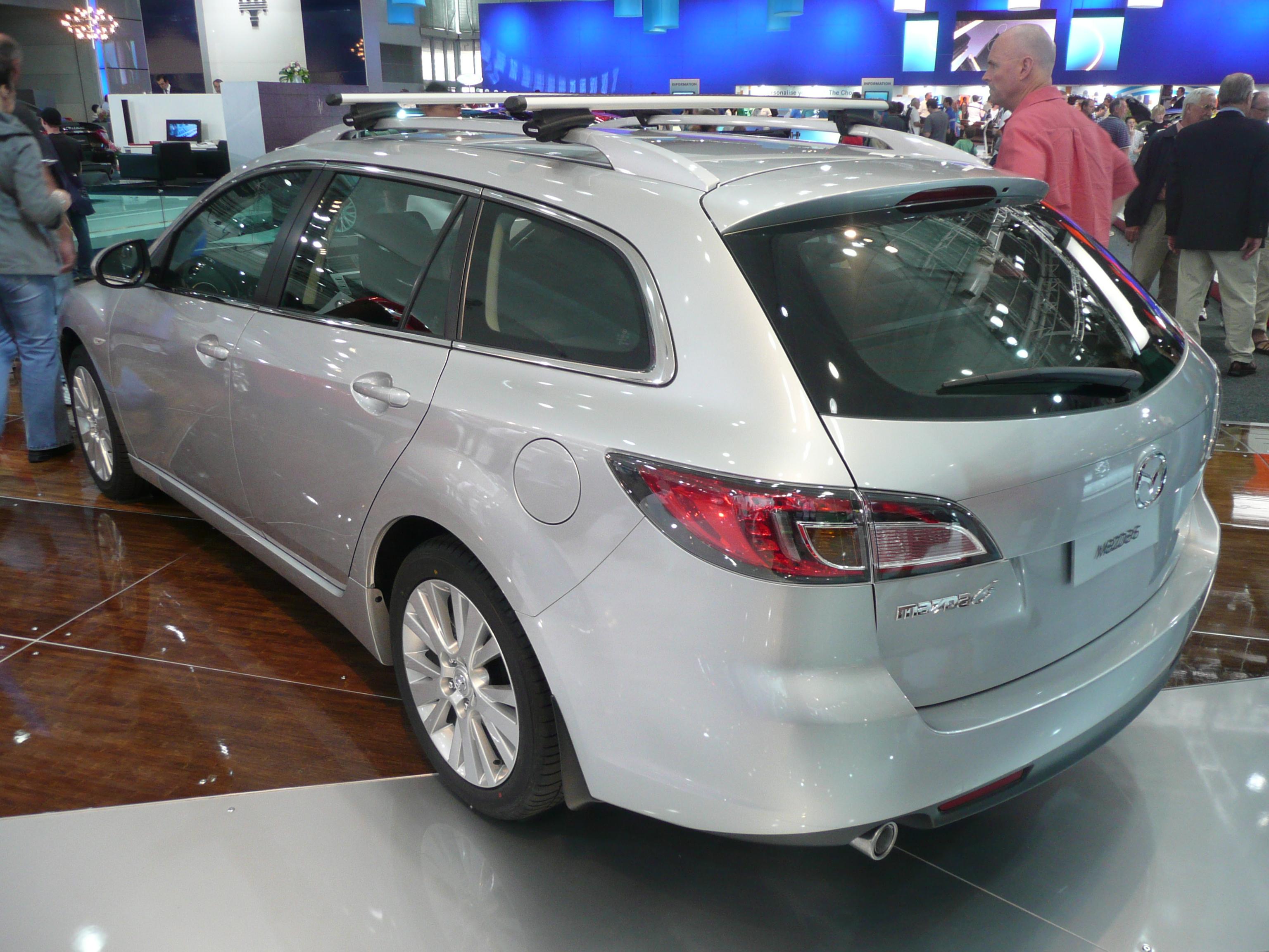 File:2008 Mazda6 (GH) Classic station wagon (2008-10-10) 01.jpg ...