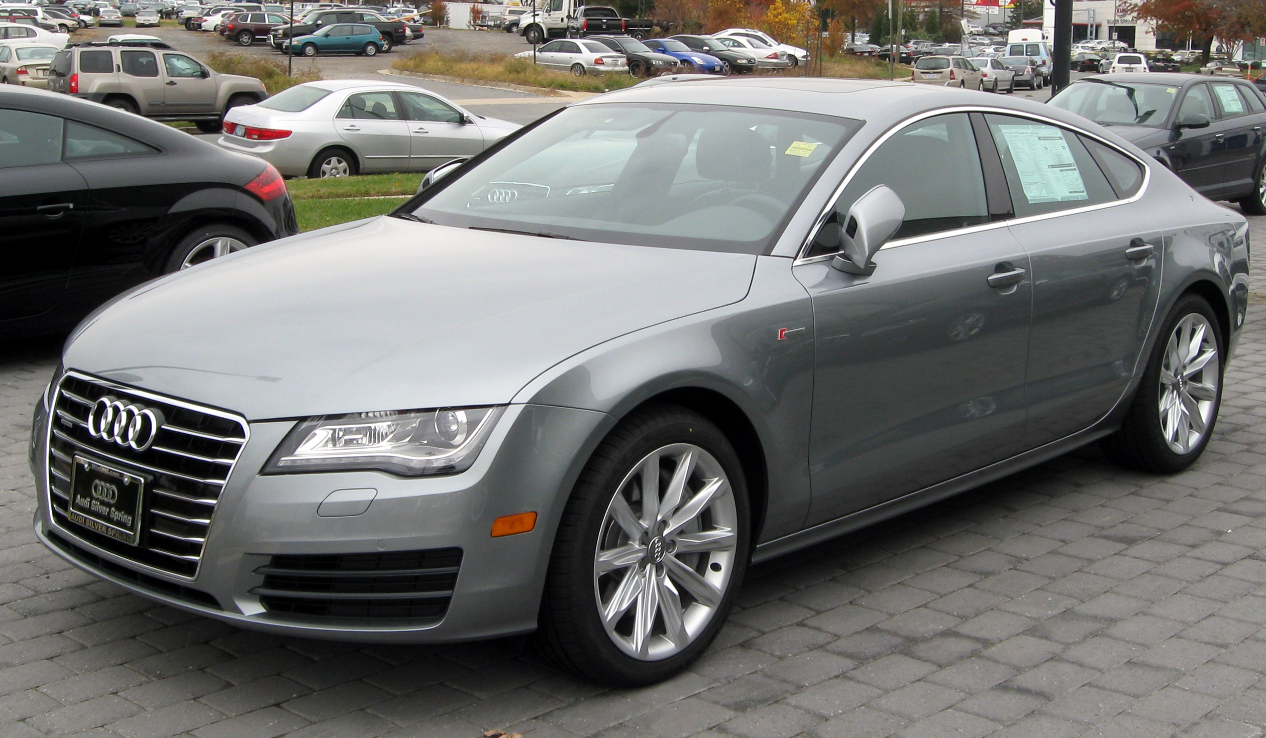 File 2012 Audi A7 11 10 2011 Jpg Wikimedia Commons