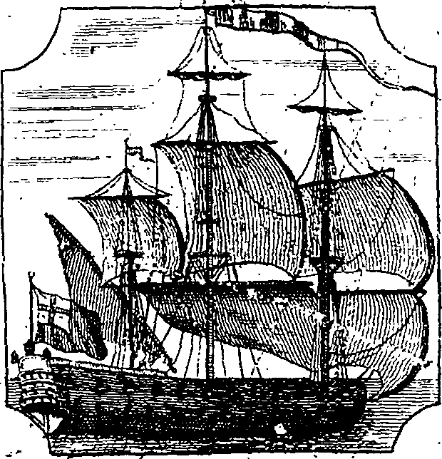 A voyage to Guinea, Brasil, and the West-Indies; in His Majesty's Ships, the Swallow and Weymouth Fleuron T087658-1.png